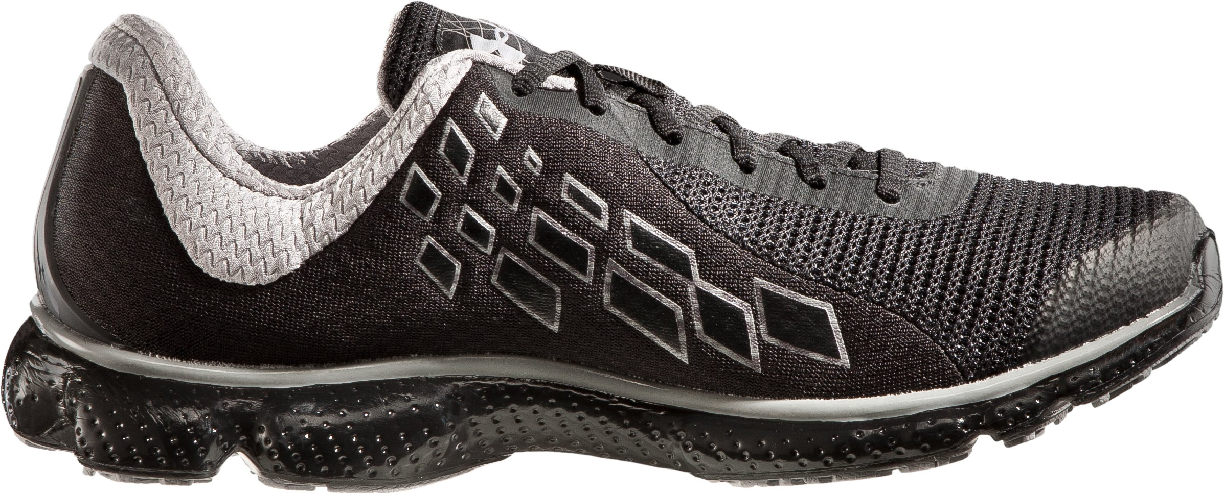 Men's UA Micro G® Stealth Running Shoes, Black , undefined