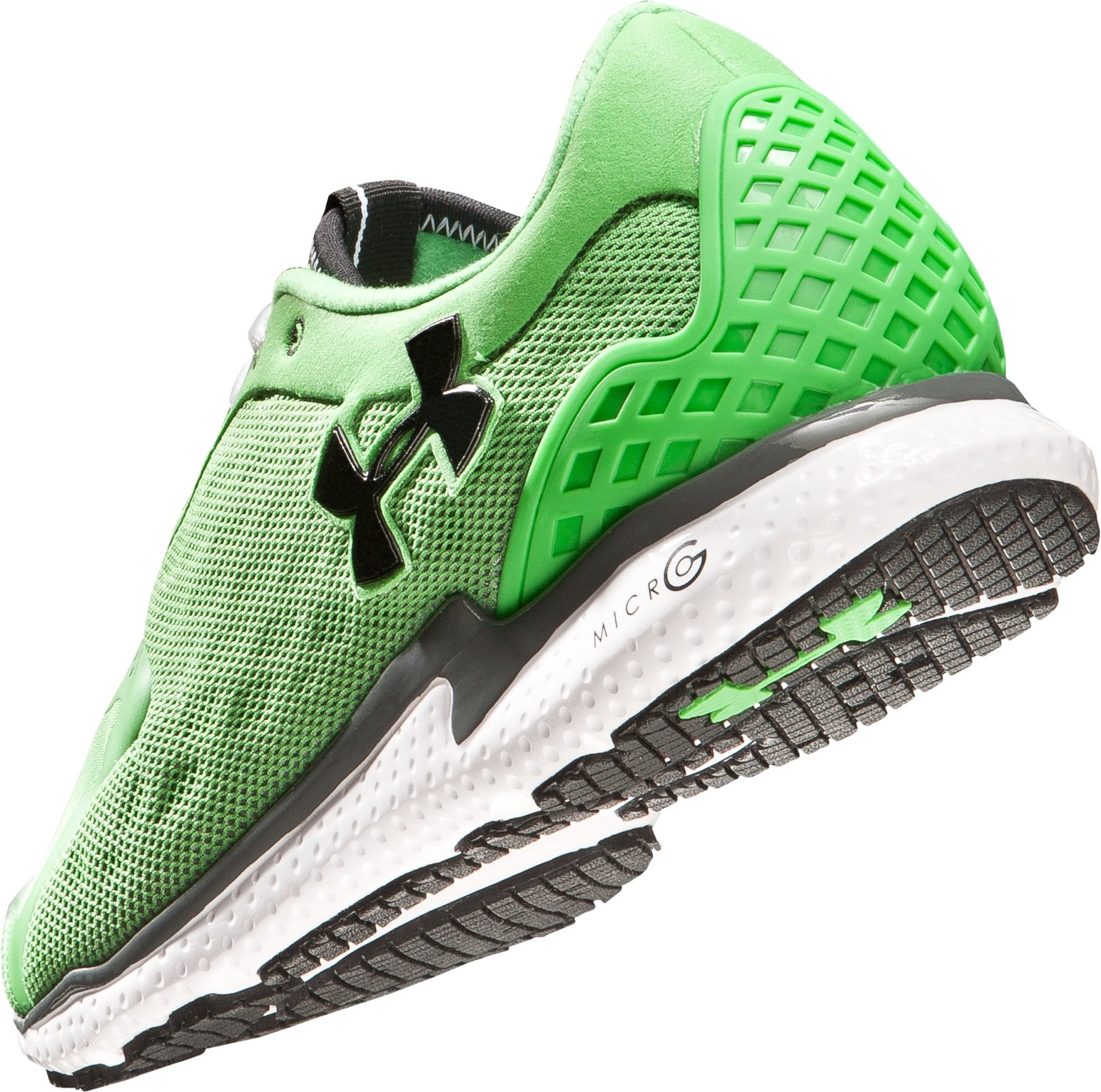Men's UA Micro G® Running Shoes, Tree Frog, undefined