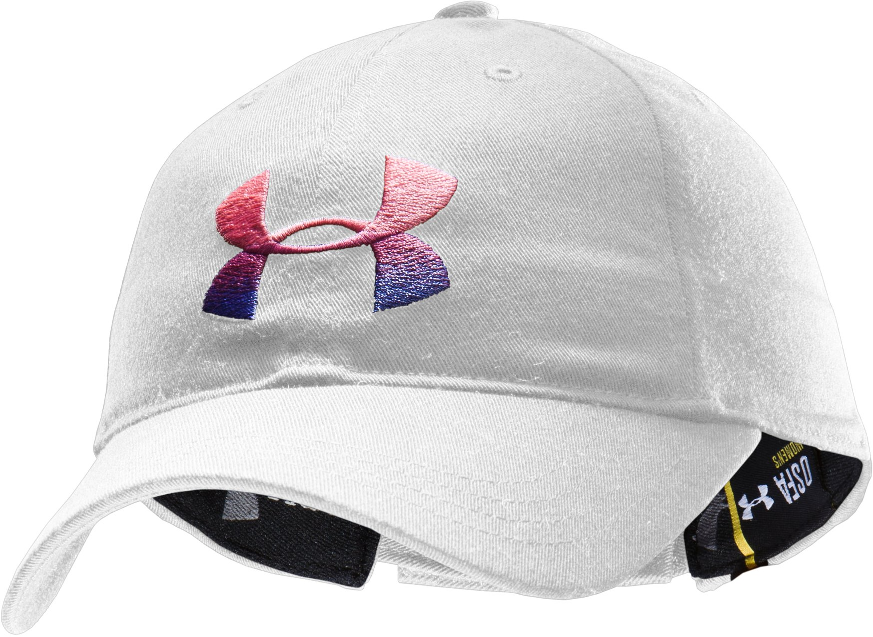 Women's UA Hope PIP® Adjustable Cap, White,