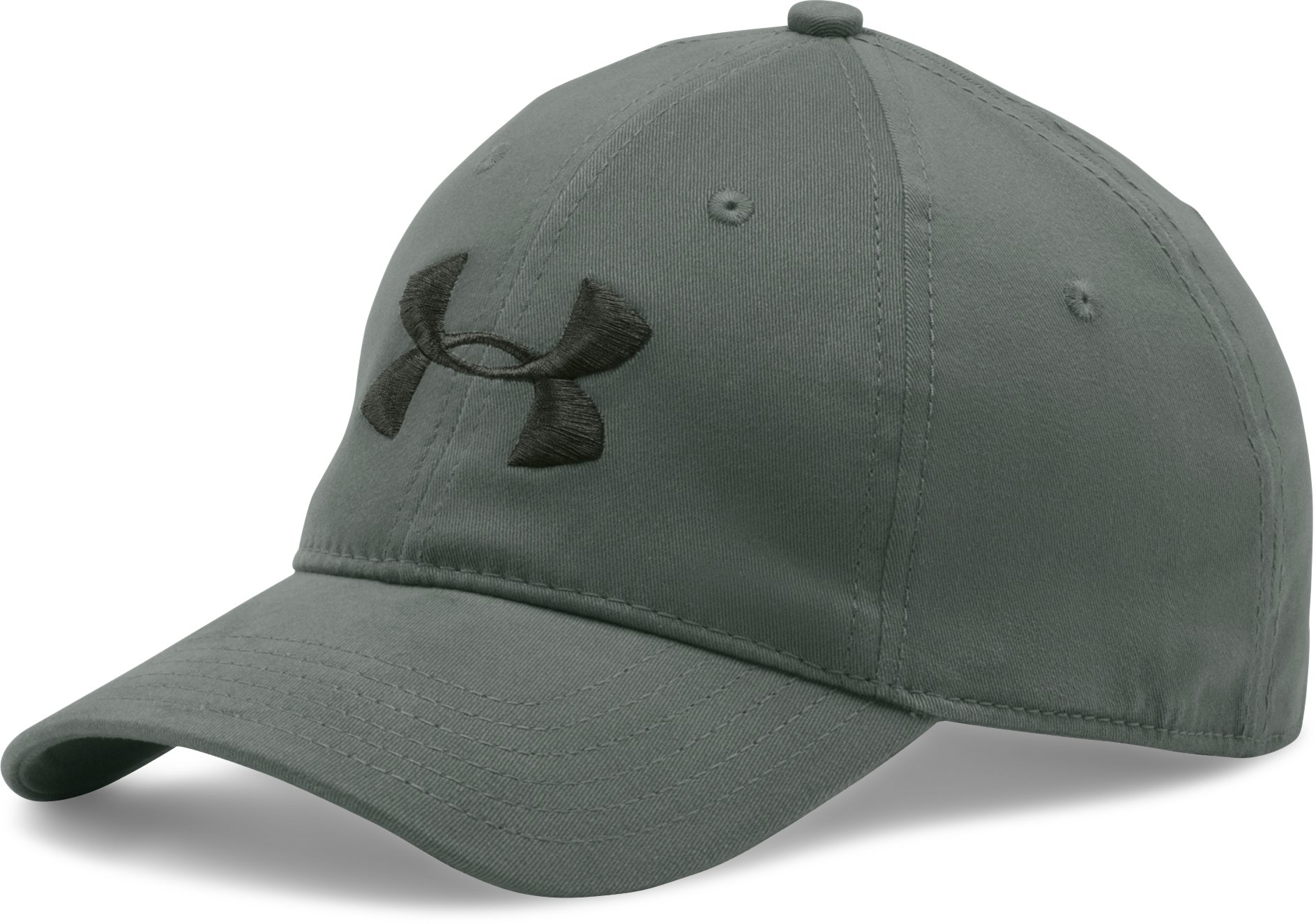 Men's UA Classic Stretch Fit Cap, MOSSY TAUPE