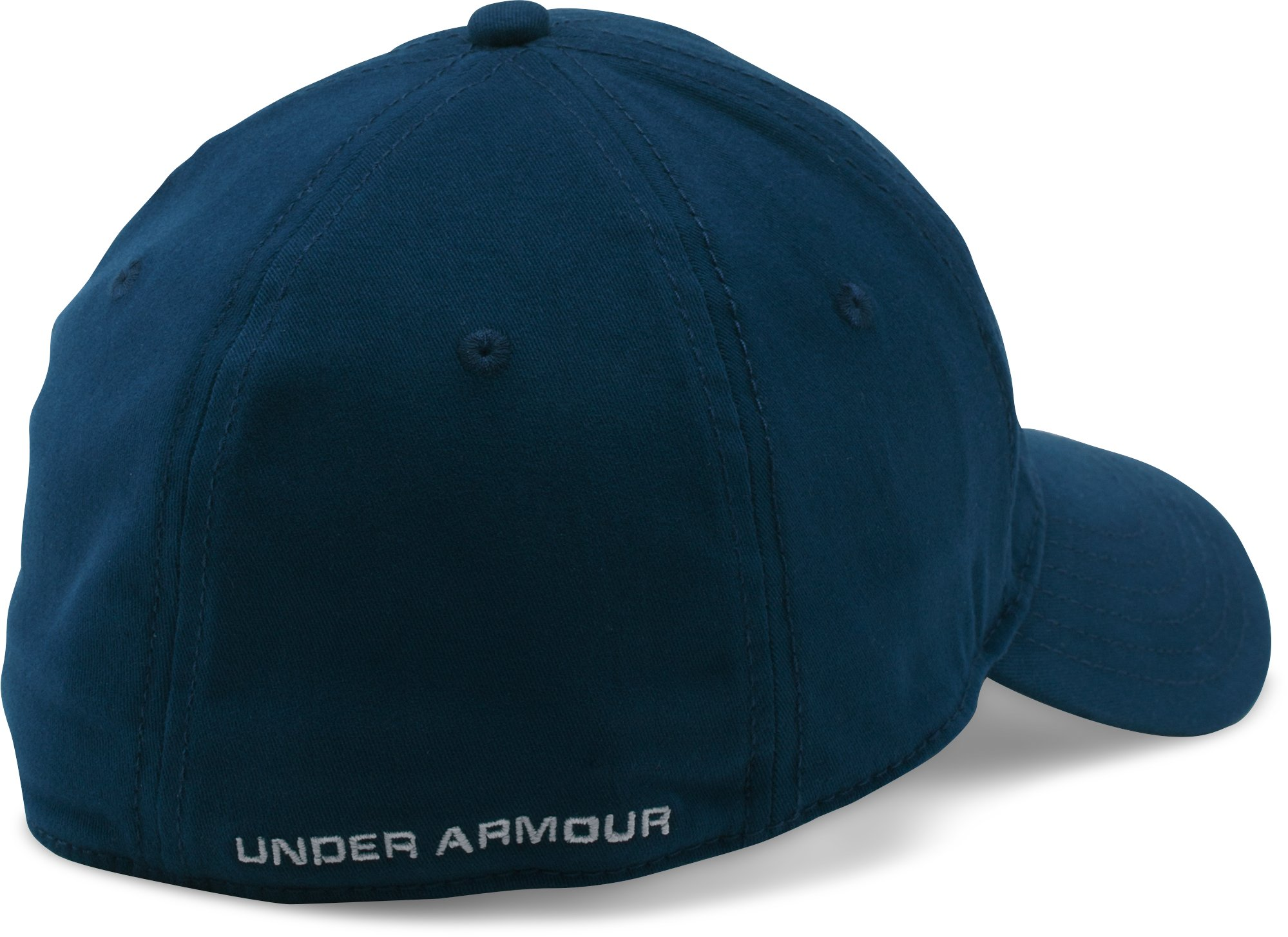 Men's UA Classic Stretch Fit Cap, Academy,