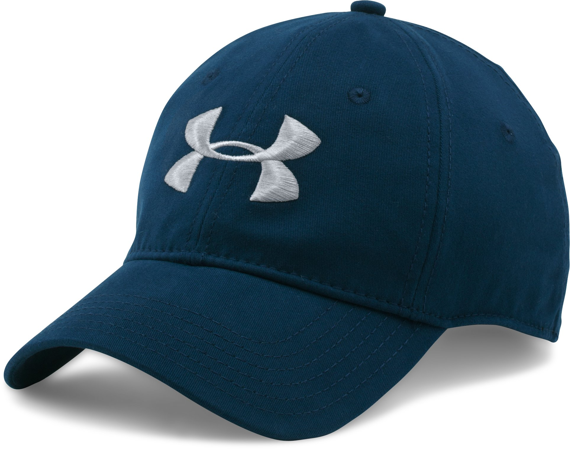 Men's UA Classic Stretch Fit Cap, Academy, zoomed image
