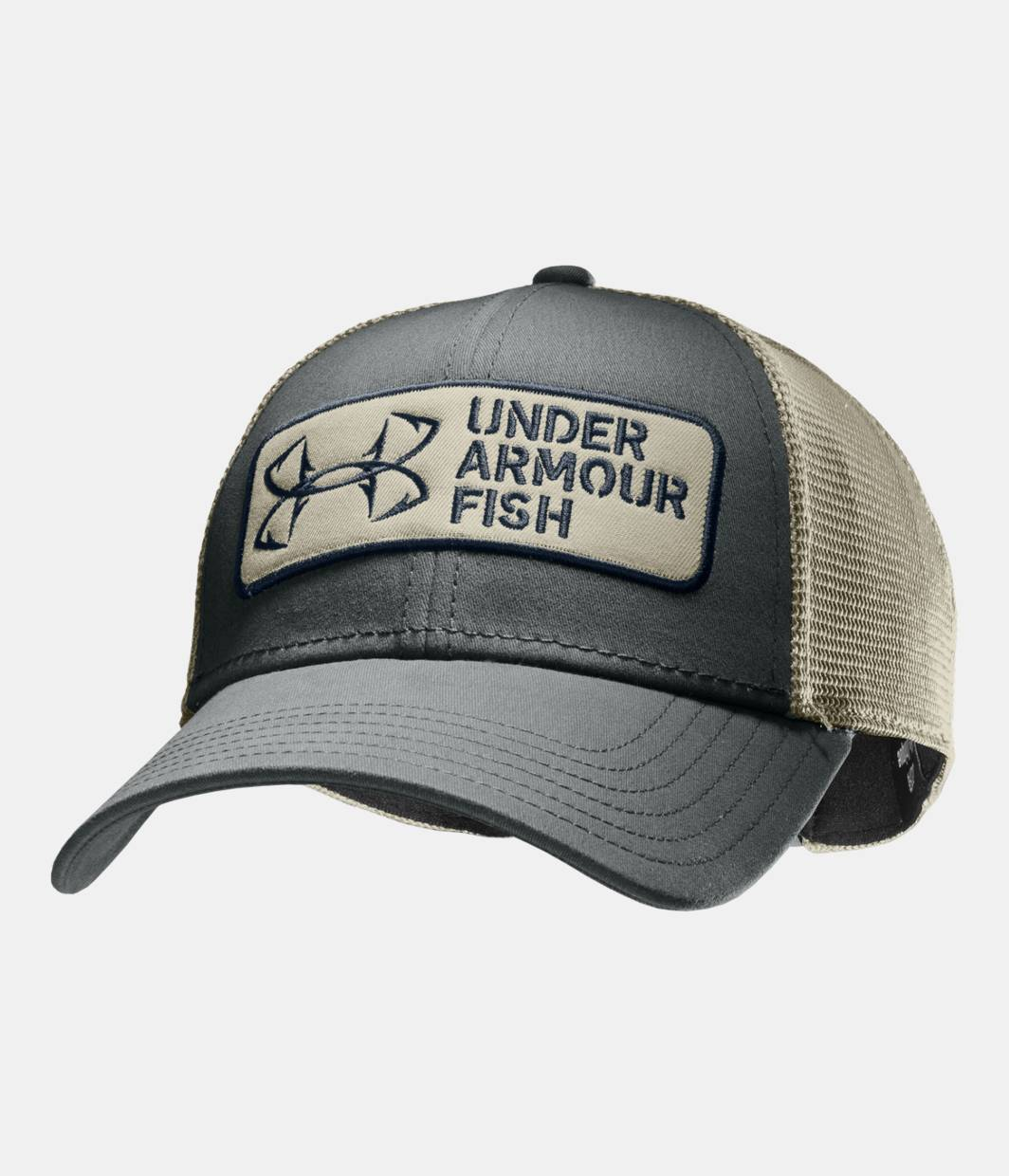 Men s ua fish hook patch adjustable cap under armour us for Fish hook on hat