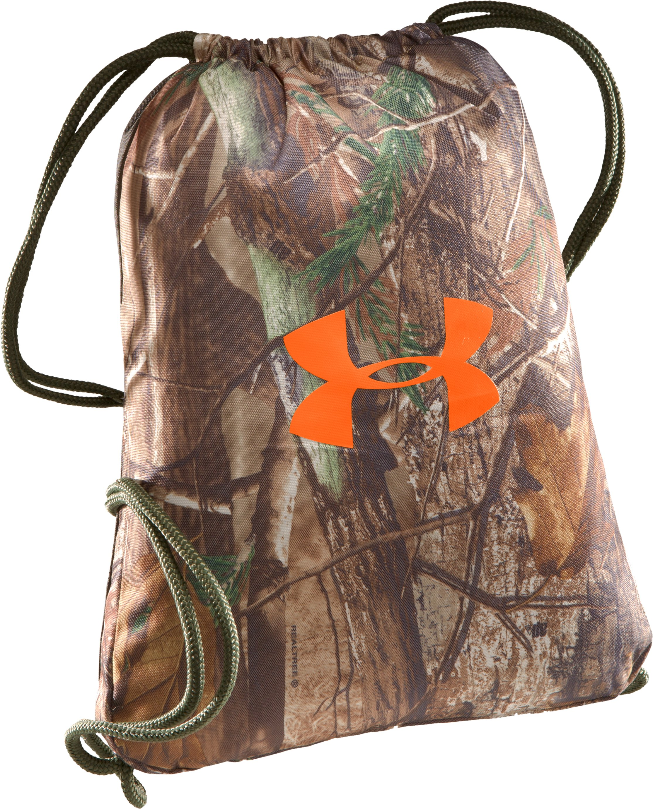 UA Camo Sackpack, Realtree AP, zoomed image