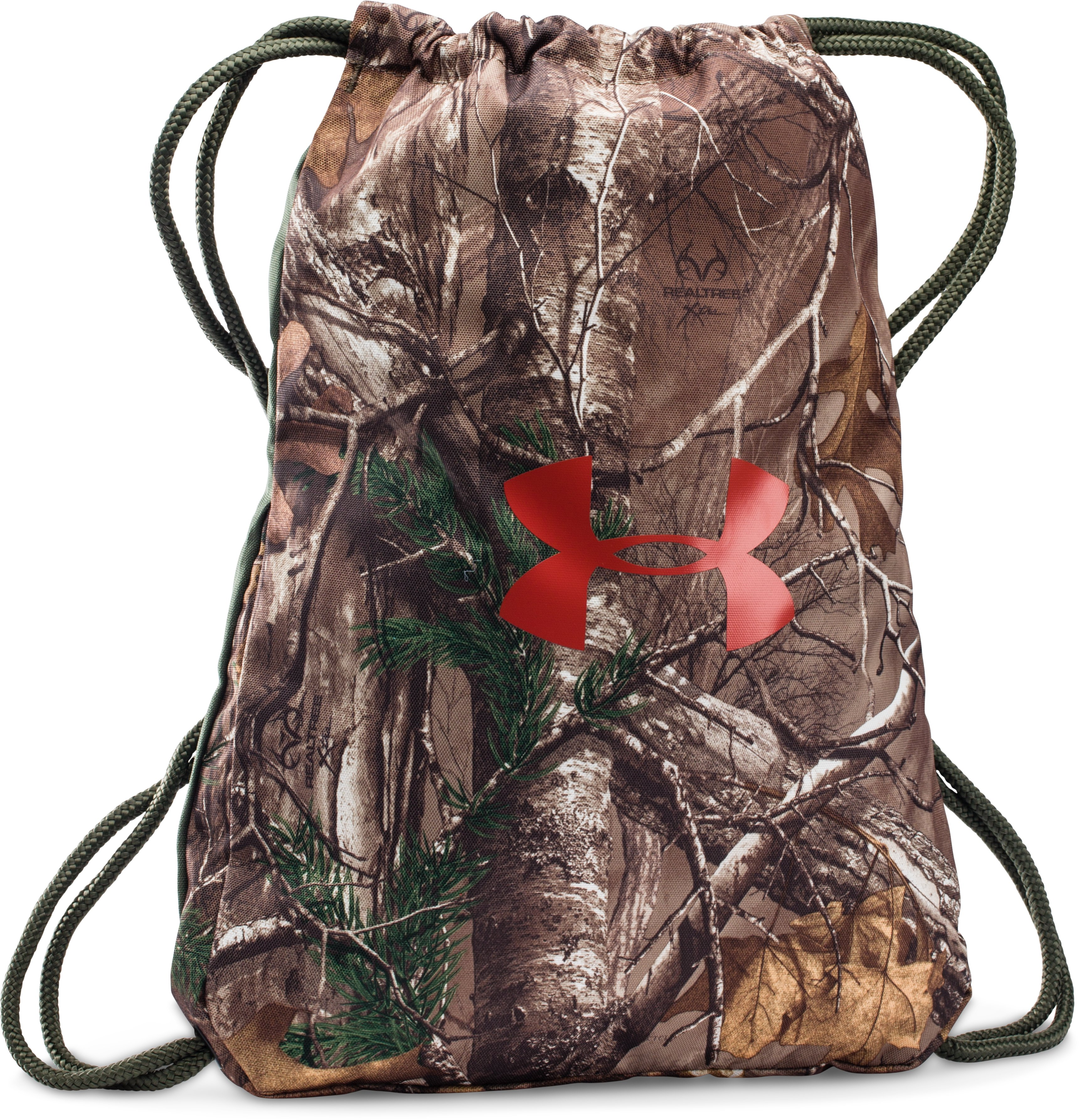 UA Camo Sackpack, REALTREE AP-XTRA, zoomed image