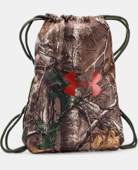 UA Camo Sackpack LIMITED TIME: FREE SHIPPING 1 Color $24.99