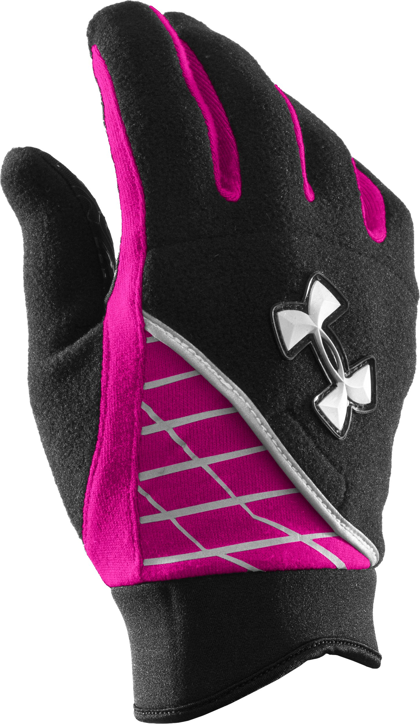 UA Fleece Glove, Black , zoomed image