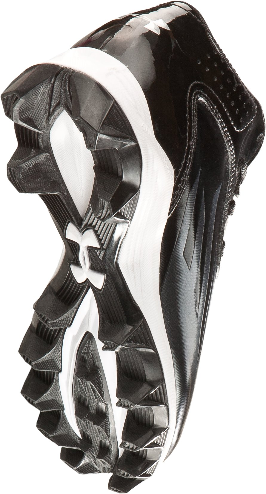 Boys' UA Nitro Diablo RM Football Cleats, Black , undefined