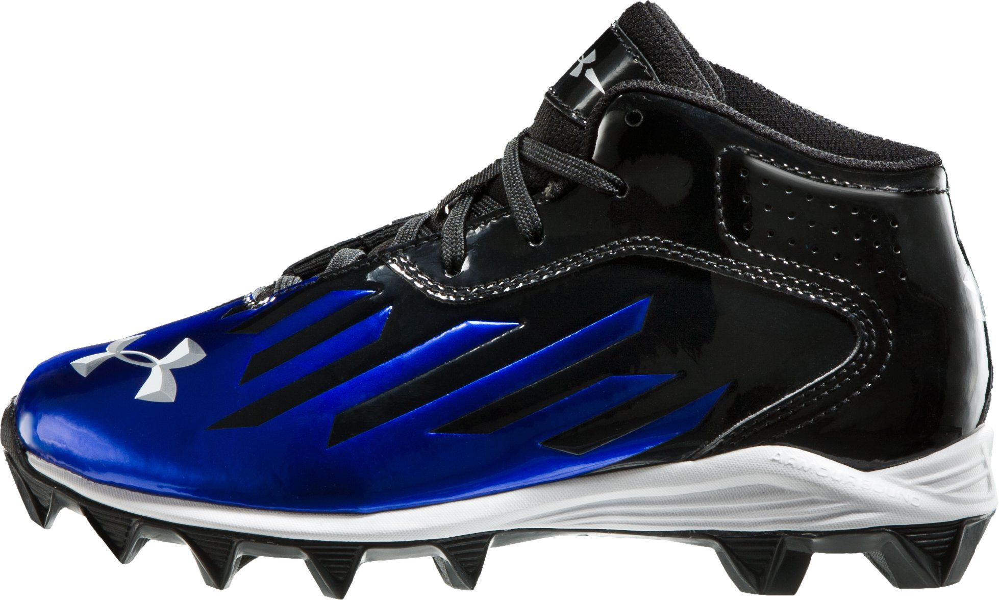 Boys' UA Nitro Diablo RM Football Cleats, Black