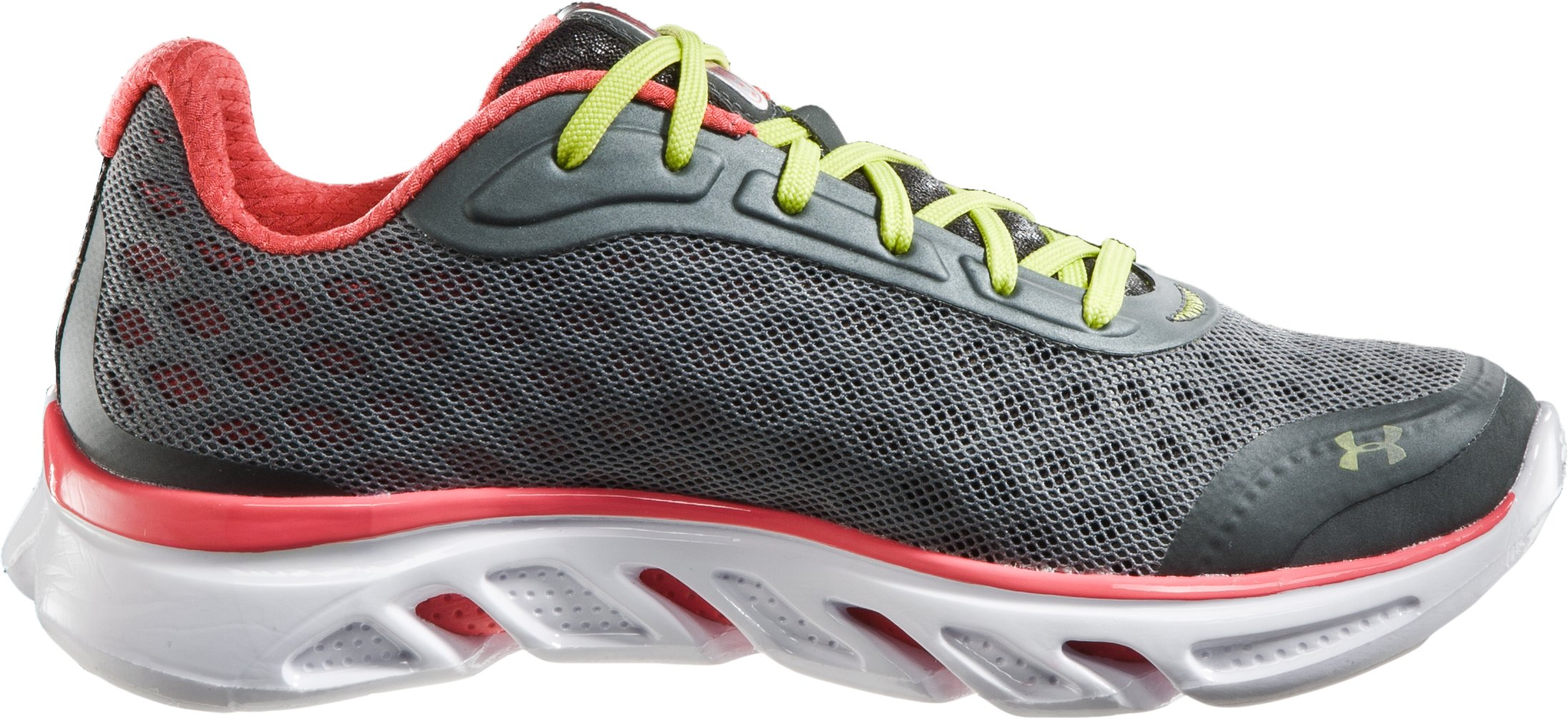 Women's UA Spine RPM Running Shoes, Charcoal