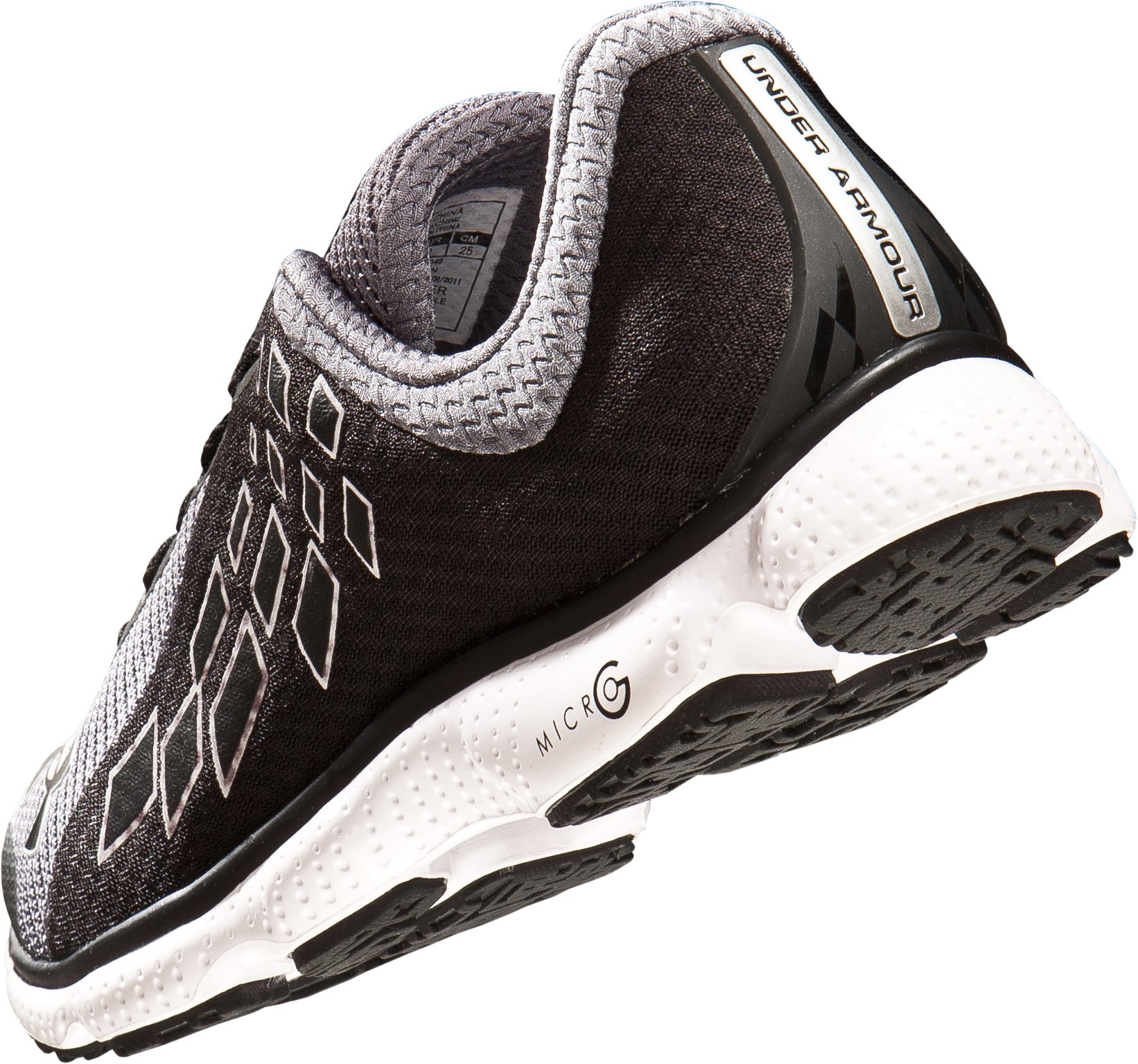 UA Women's UA Micro G® Stealth Running Shoes, Graphite