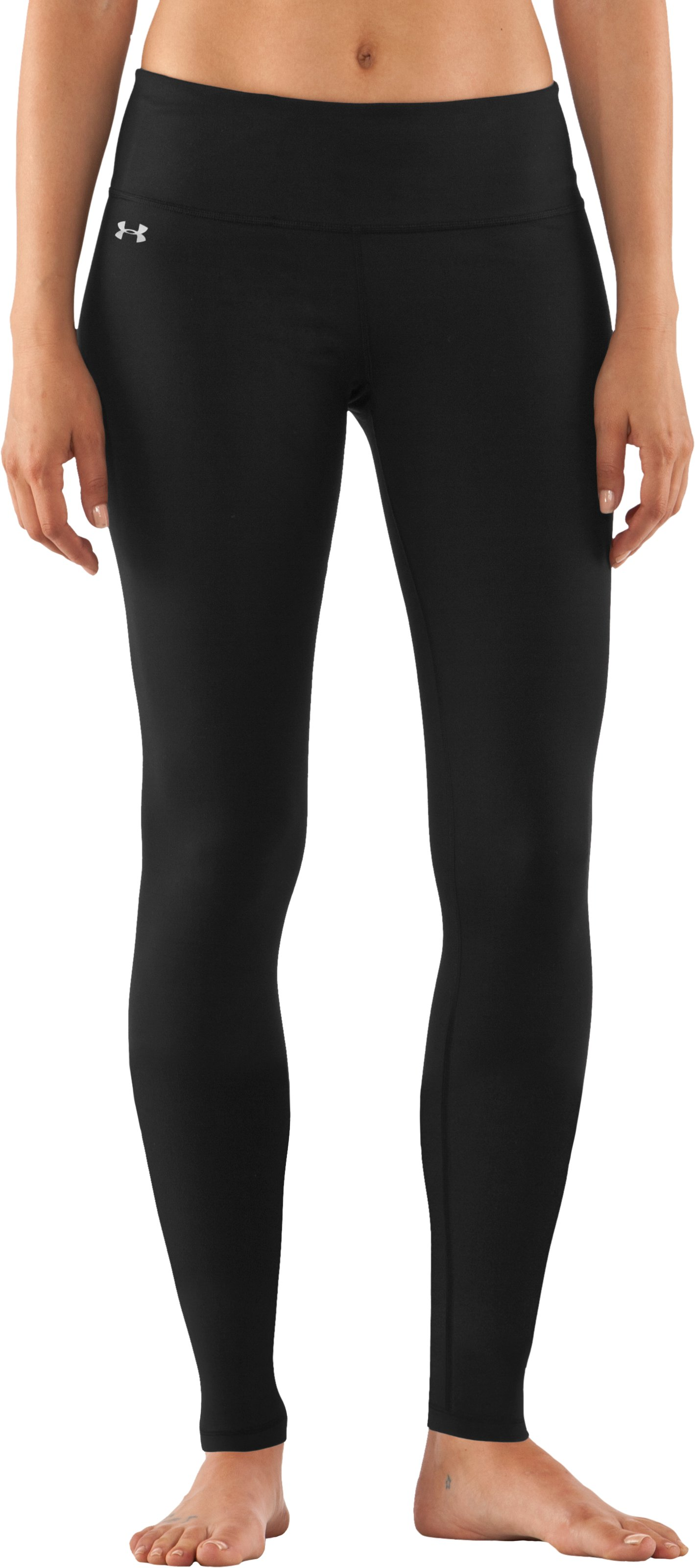 Women's UA StudioLux® Leggings, Black , zoomed image