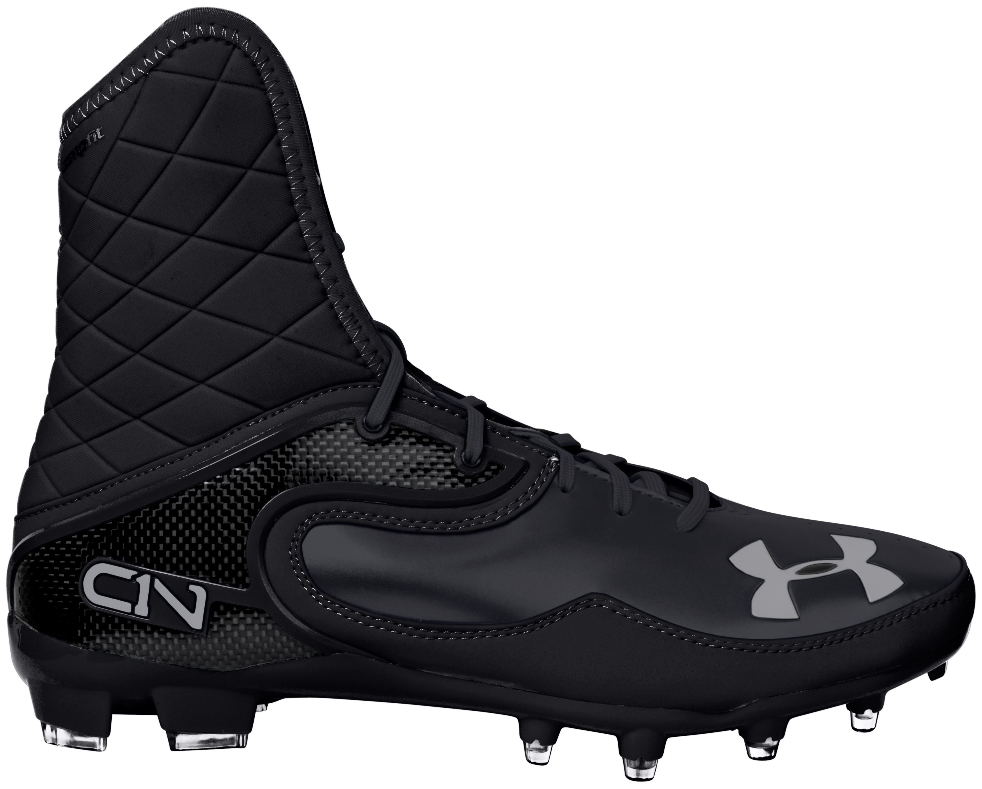 Men's UA Cam Highlight MC Football Cleats, Black , undefined