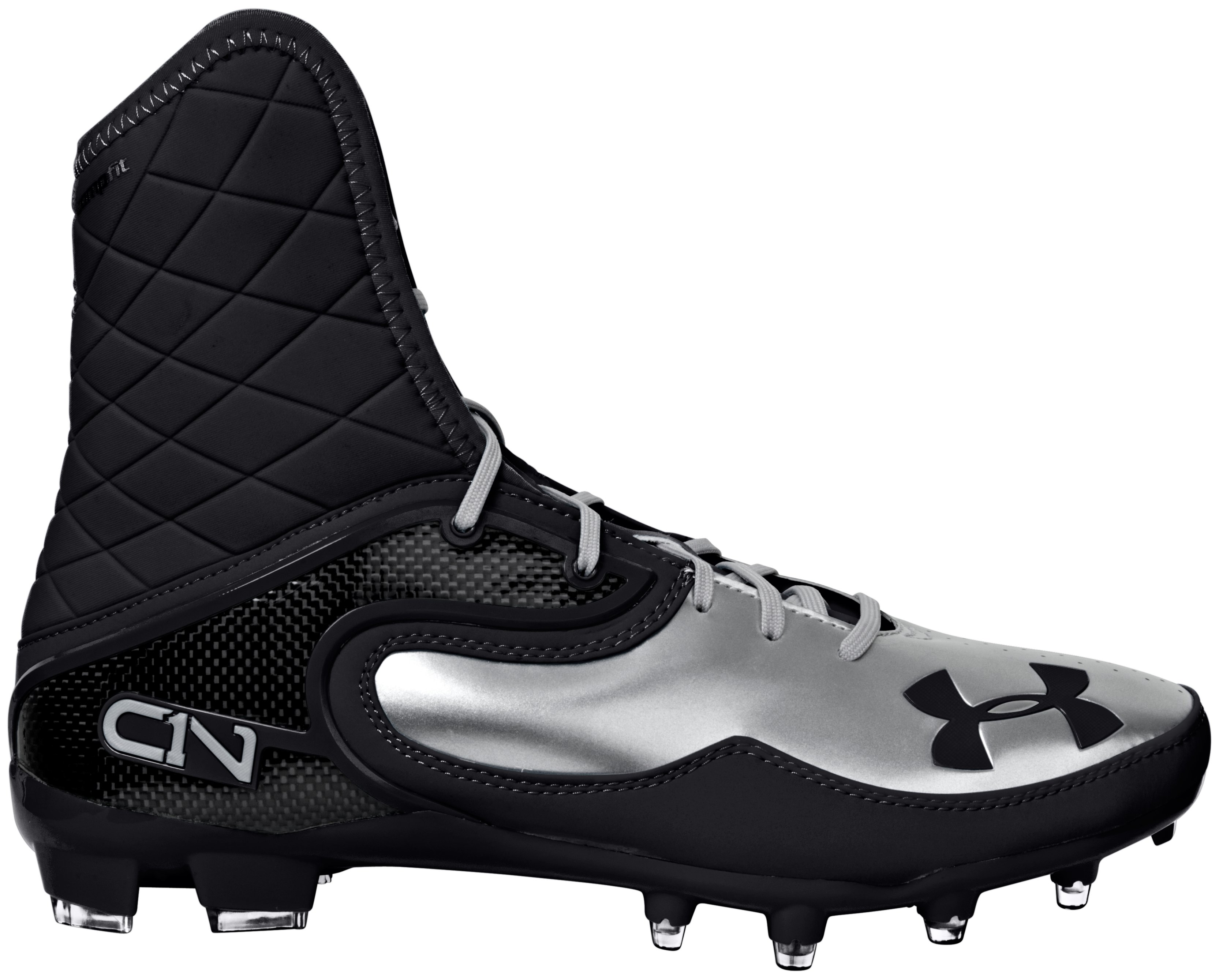 Men's UA Cam Highlight MC Football Cleats, Black , zoomed image