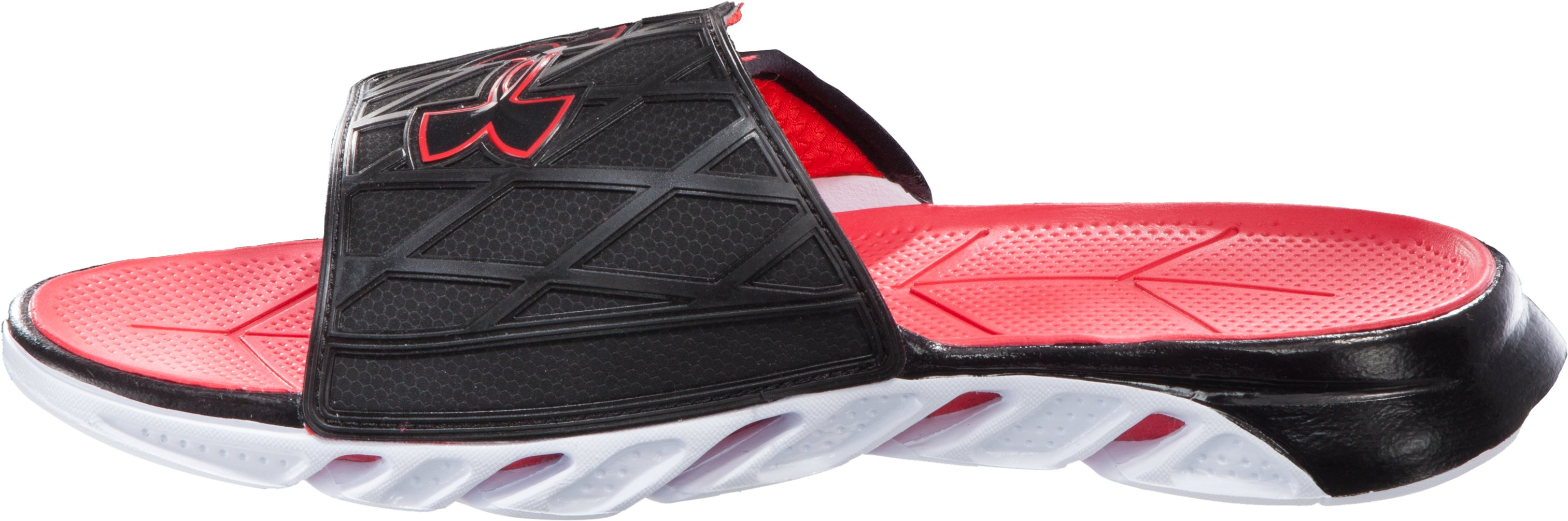 Men's UA Spine™ Slides, Black