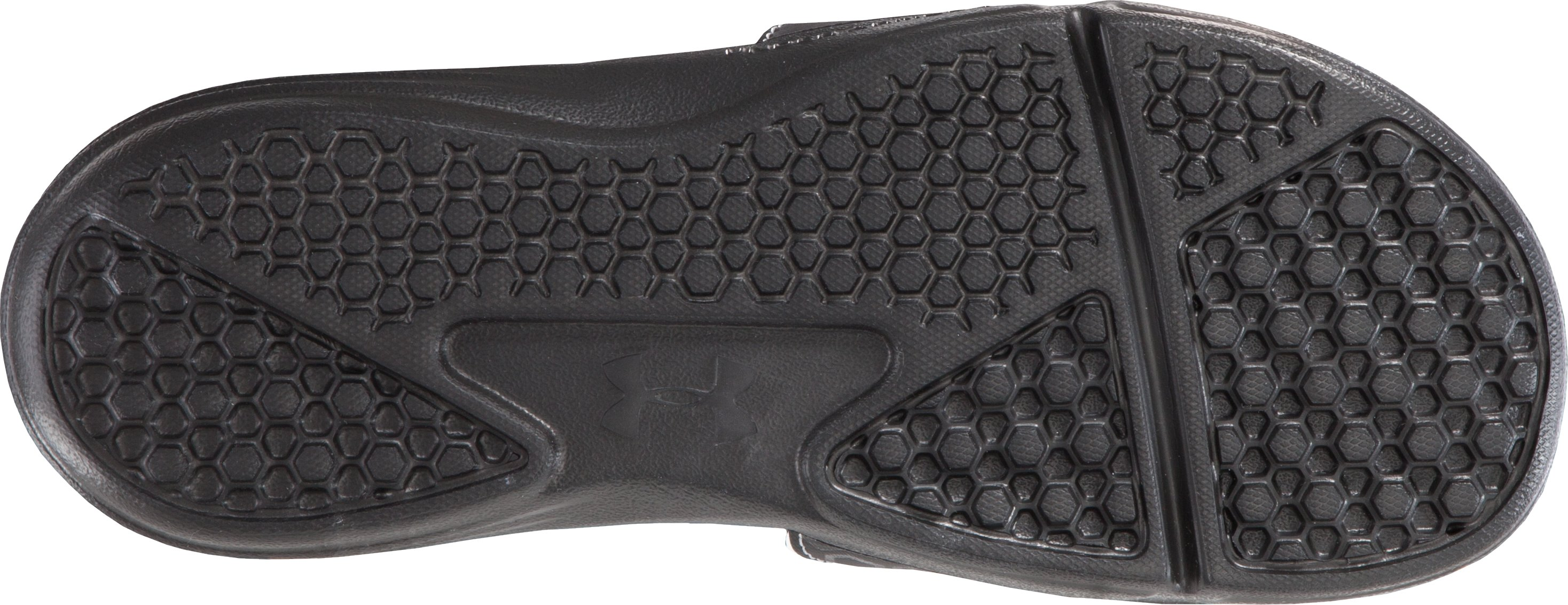 Men's UA Playmaker III Slide, Black