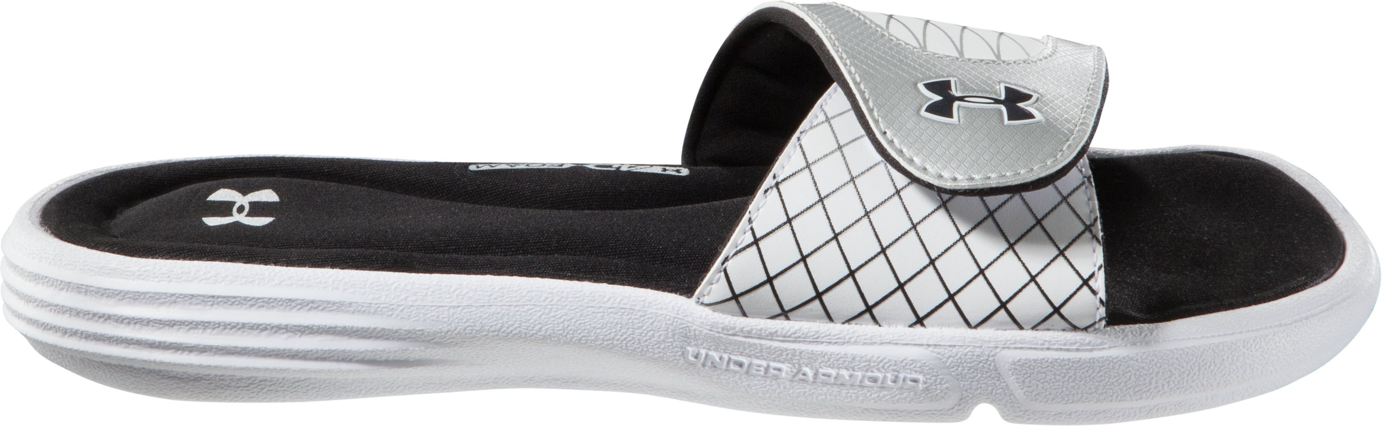 Women's Ignite V Slide, White, undefined