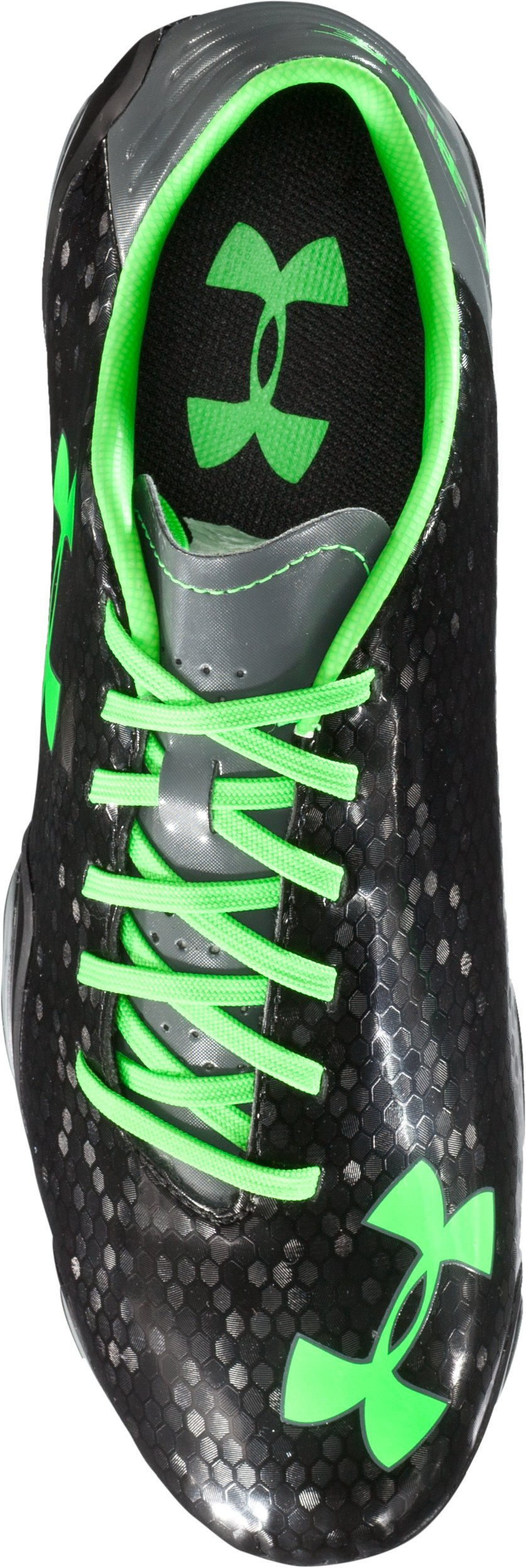 Men's UA Blur Flash III FG Soccer Cleats, Black