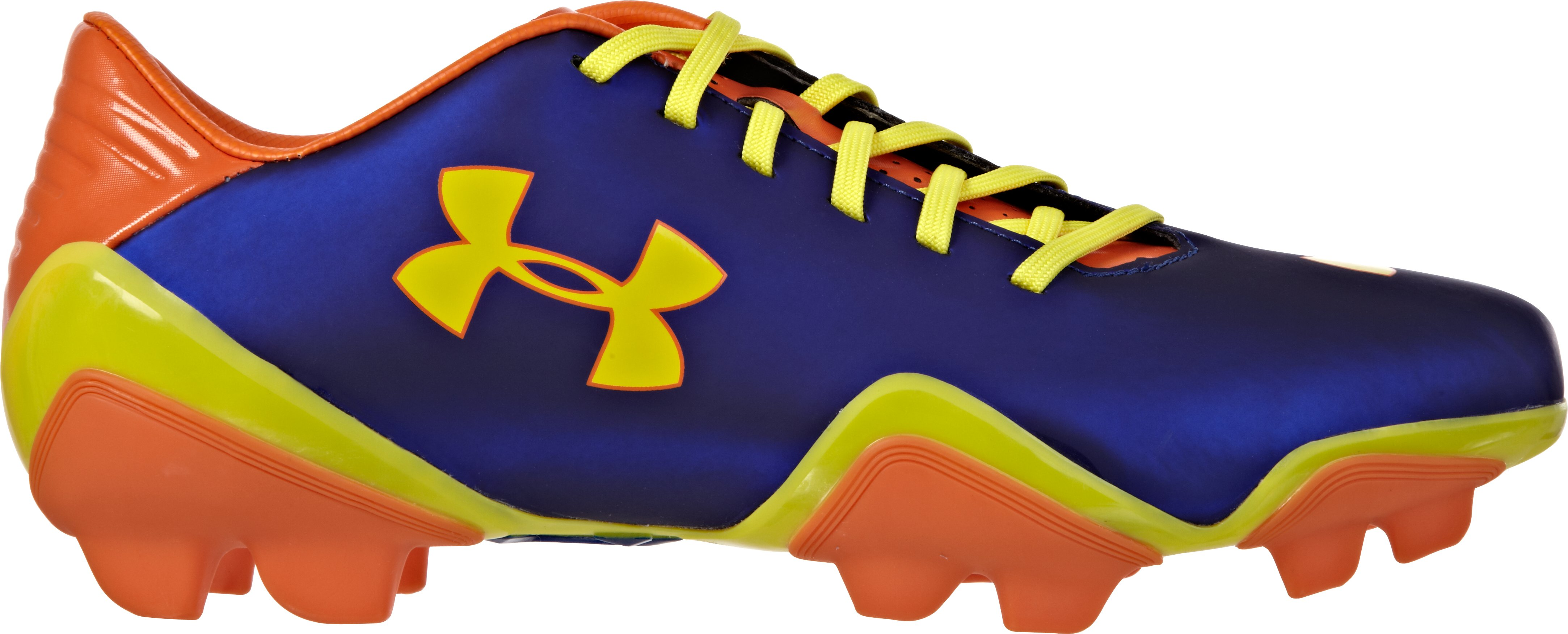 Men's UA Blur Flash III FG Soccer Cleats, Caspian, zoomed image