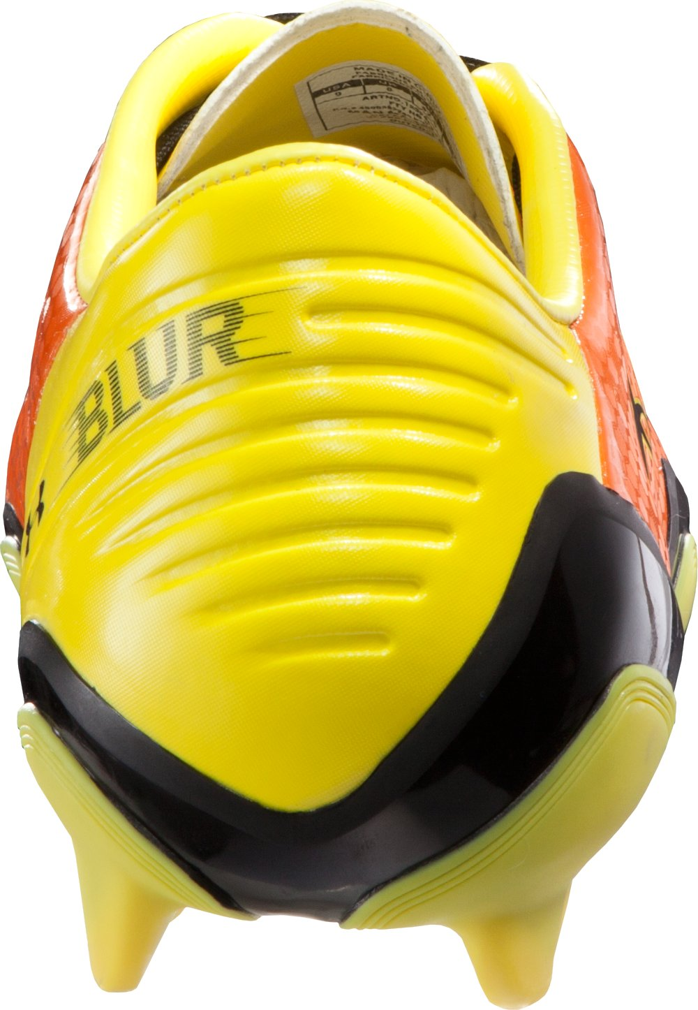 Men's UA Blur Flash III FG Soccer Cleats, Vivid, undefined