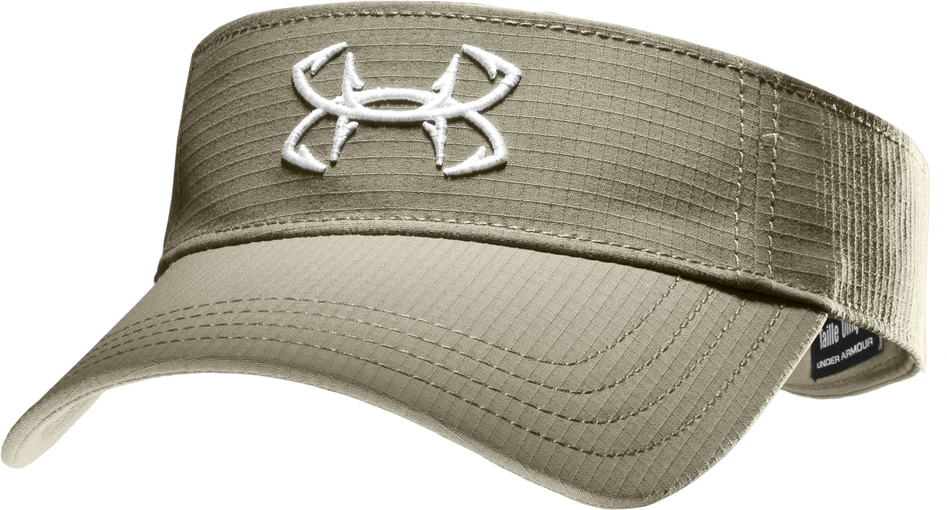 Women's UA Fish Hook Visor, Desert Sand, zoomed image