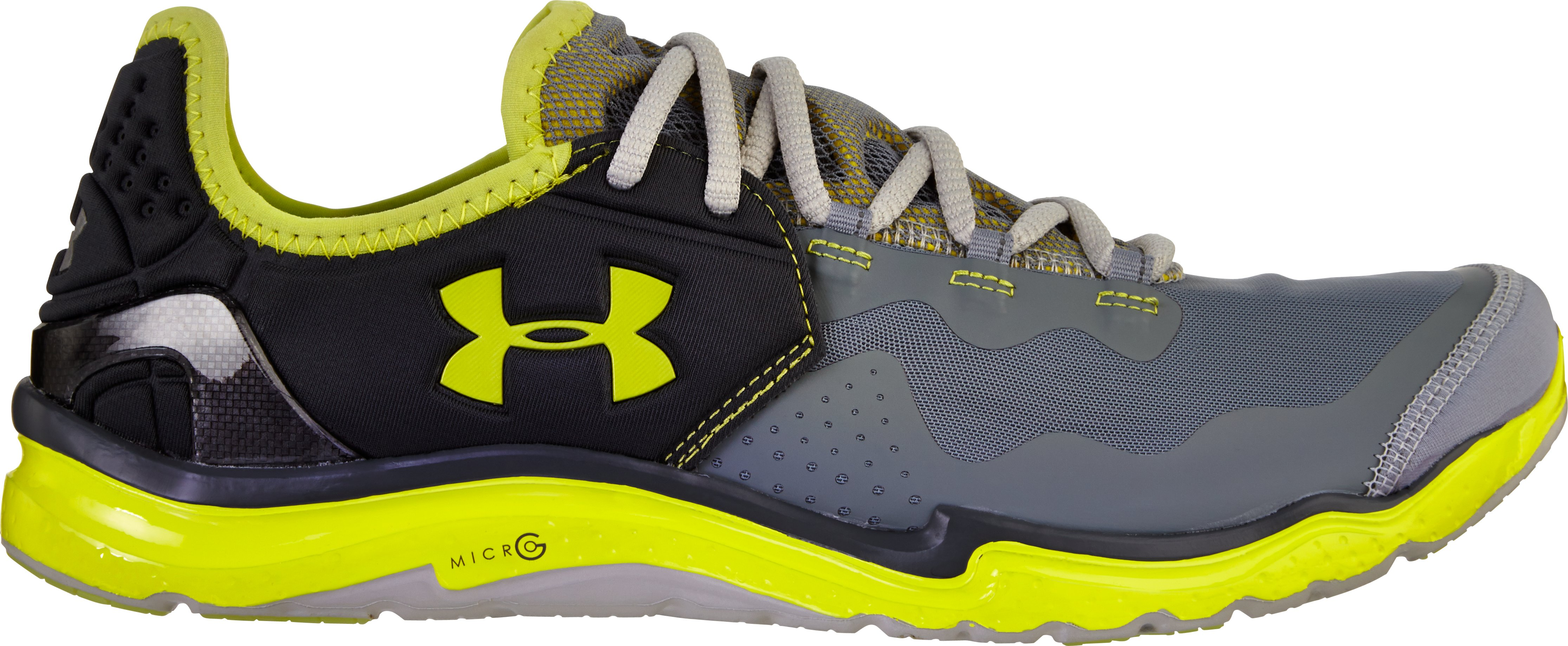 Men's UA Charge RC 2 Running Shoes, GRAVEL