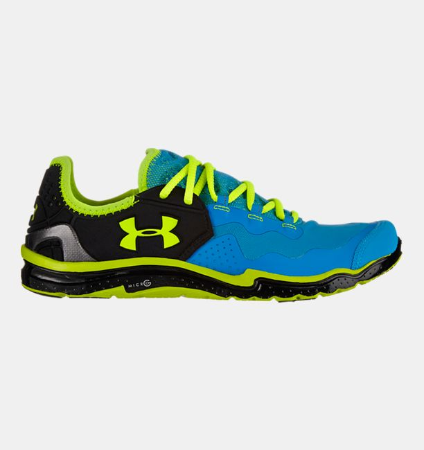 Mens UA Charge RC 2 Running Shoes ELECTRIC BLUE