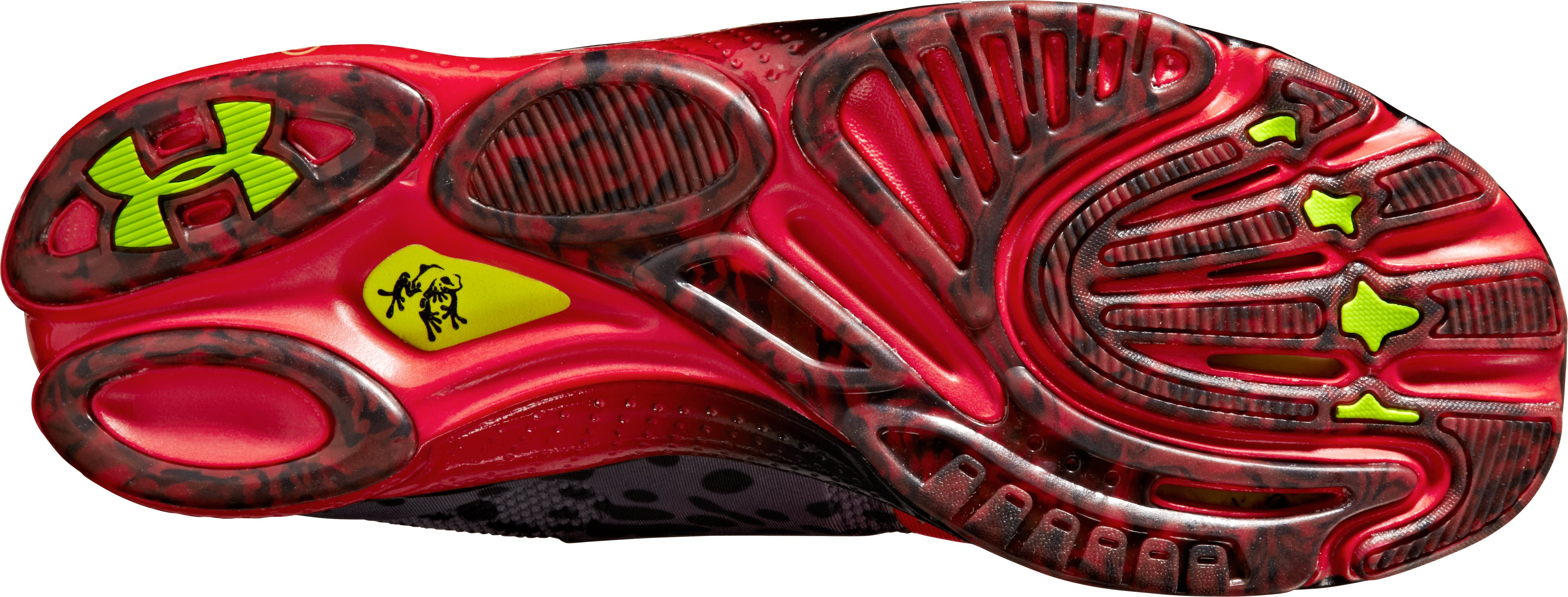 Men's UA Micro G® Toxic Six Running Shoes, Red