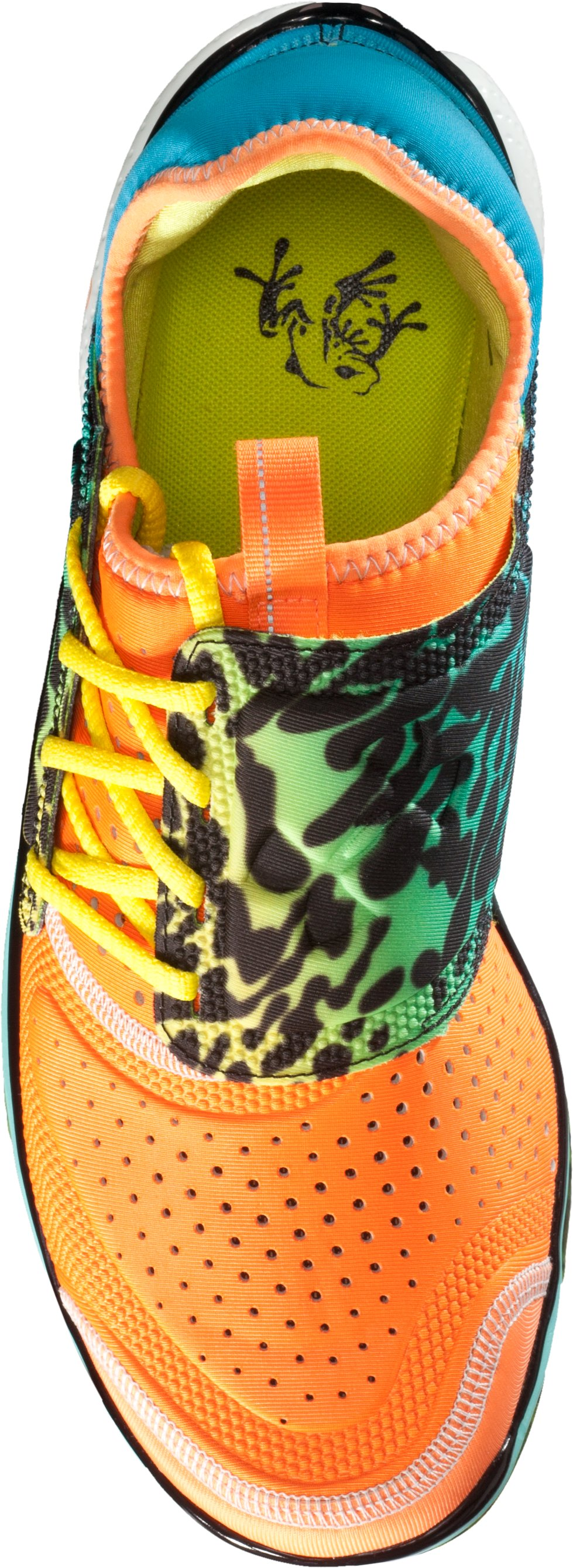 Men's UA Micro G® Toxic Six Running Shoes, Blaze Orange