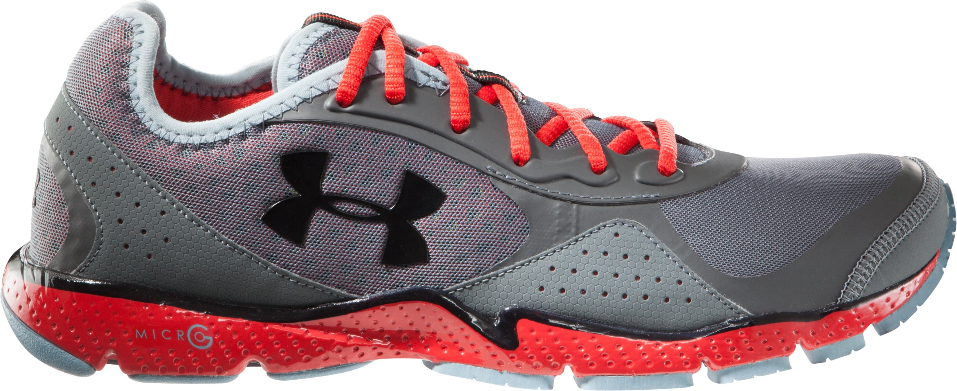 Men's UA FTHR Shield Running Shoes, Charcoal, zoomed image