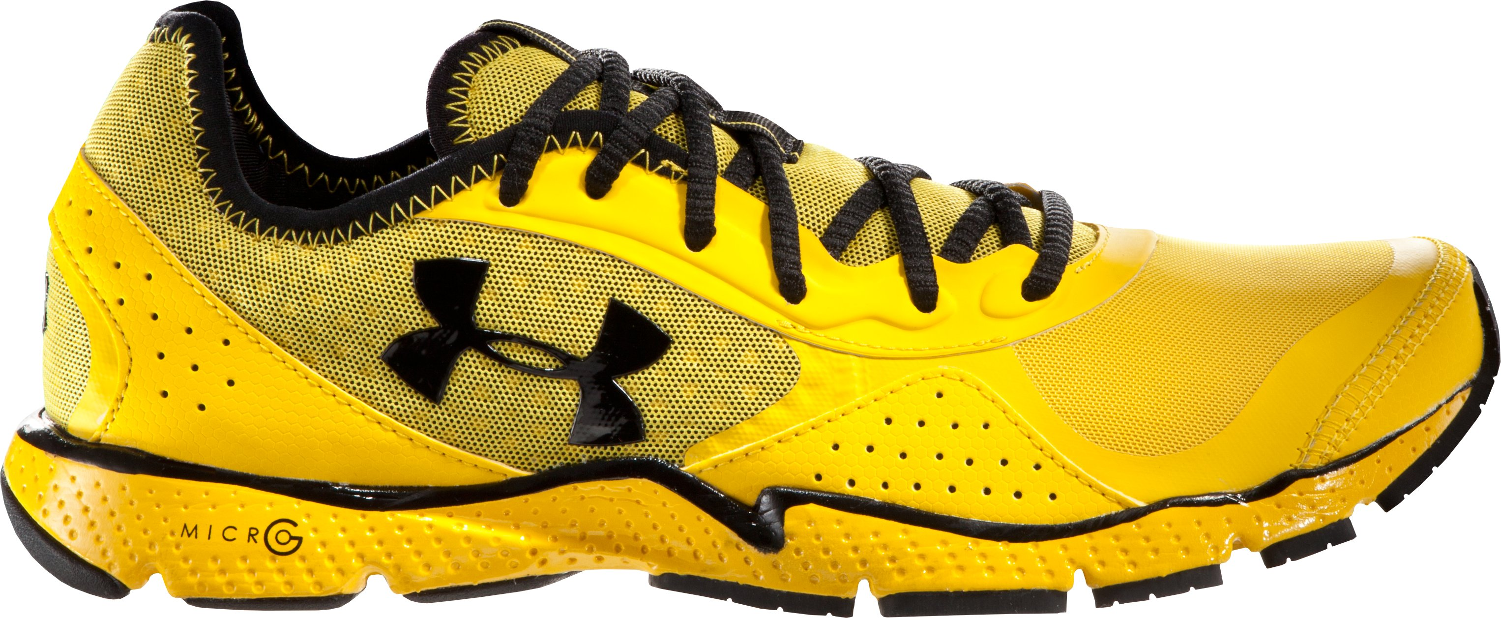 Men's UA FTHR Shield Running Shoes, Taxi
