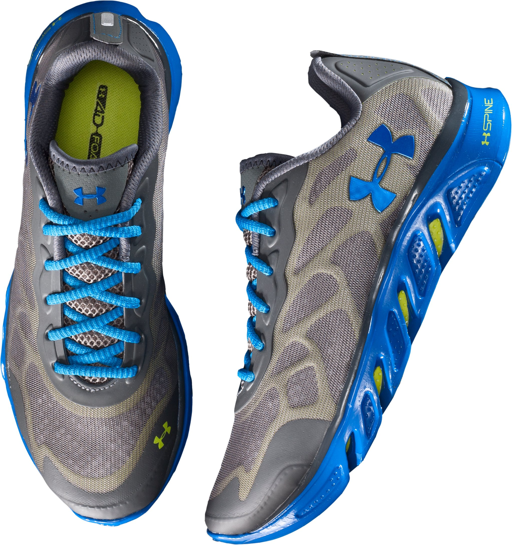 Men's UA Spine™ Venom Running Shoes, Charcoal