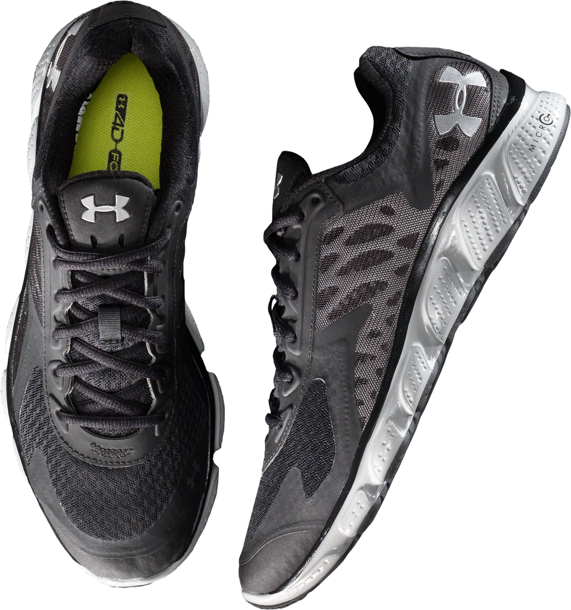 Men's UA Micro G® Skulpt Running Shoes, Black ,