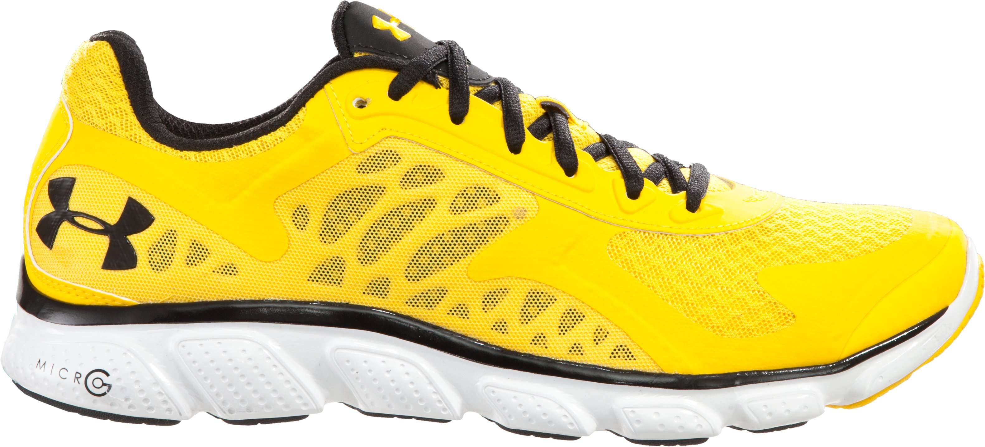Men's UA Micro G® Skulpt Running Shoes, Taxi