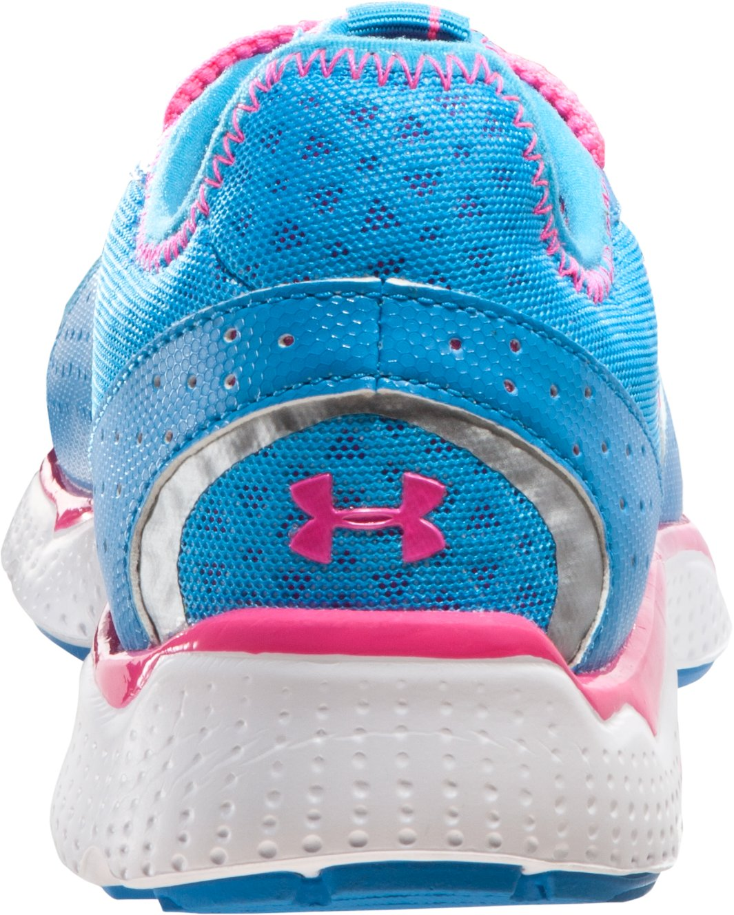 Girls' Grade School FTHR Shield Running Shoes, Pool, undefined