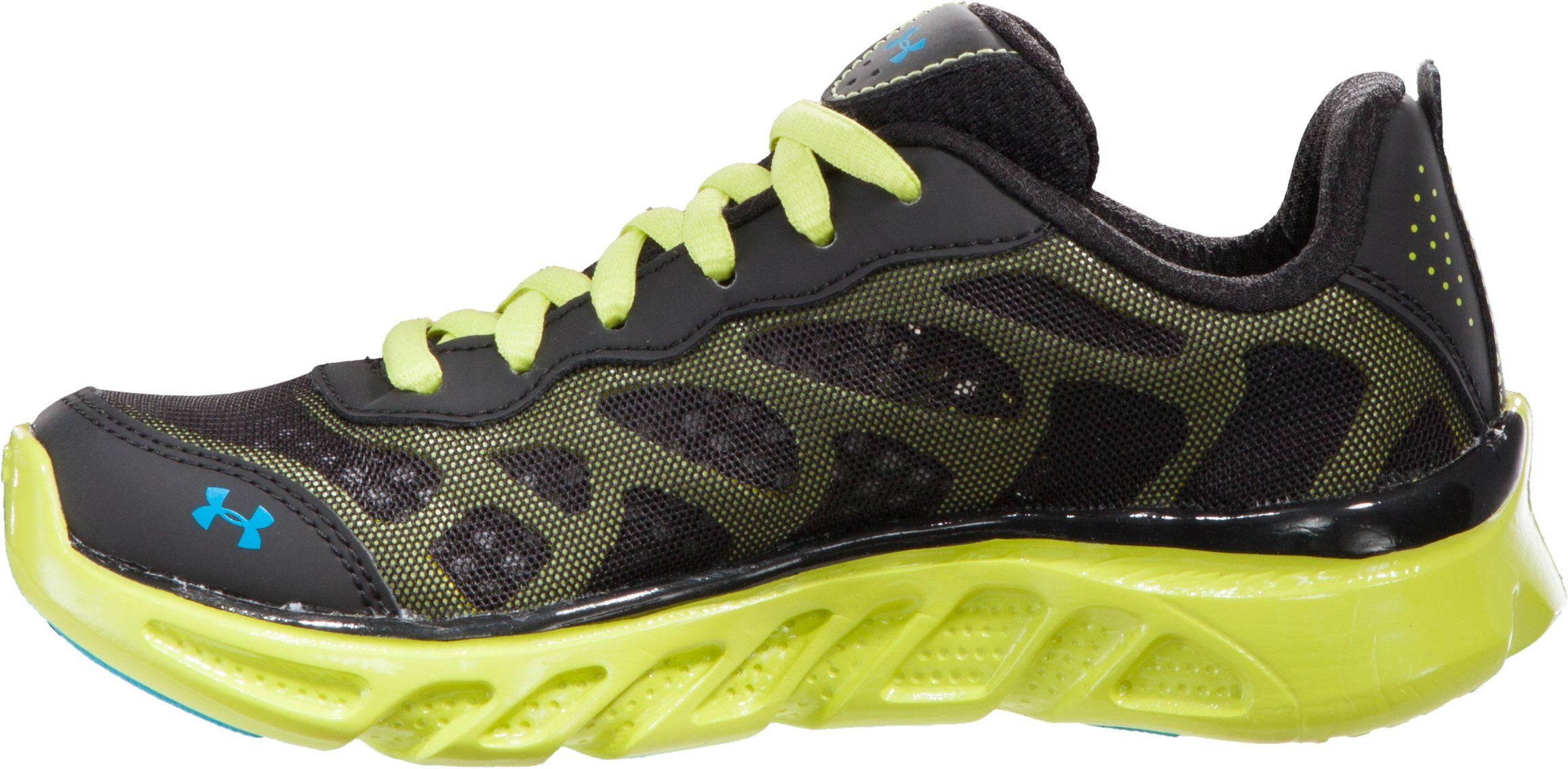 Boys' UA Spine™ Venom Pre-School Shoes, Black