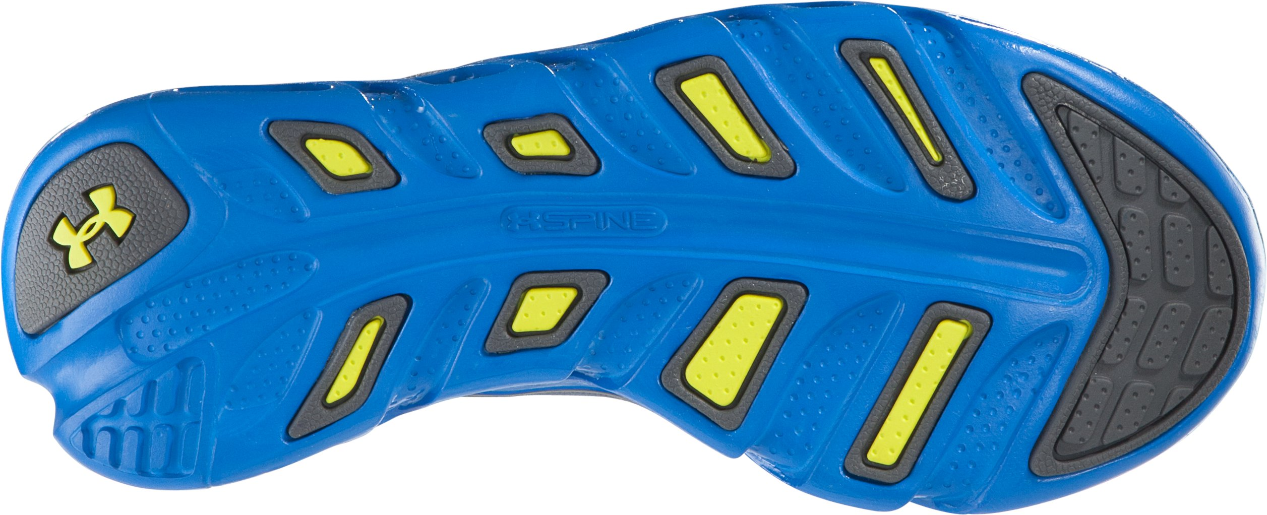 Boys' UA Spine™ Venom Pre-School Shoes, Charcoal