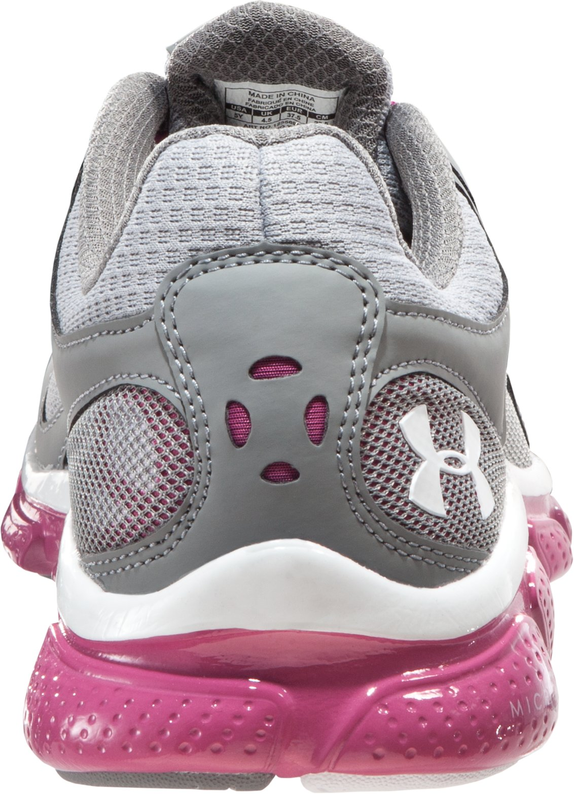 Girls' Grade School UA Micro G® Skulpt, Graphite