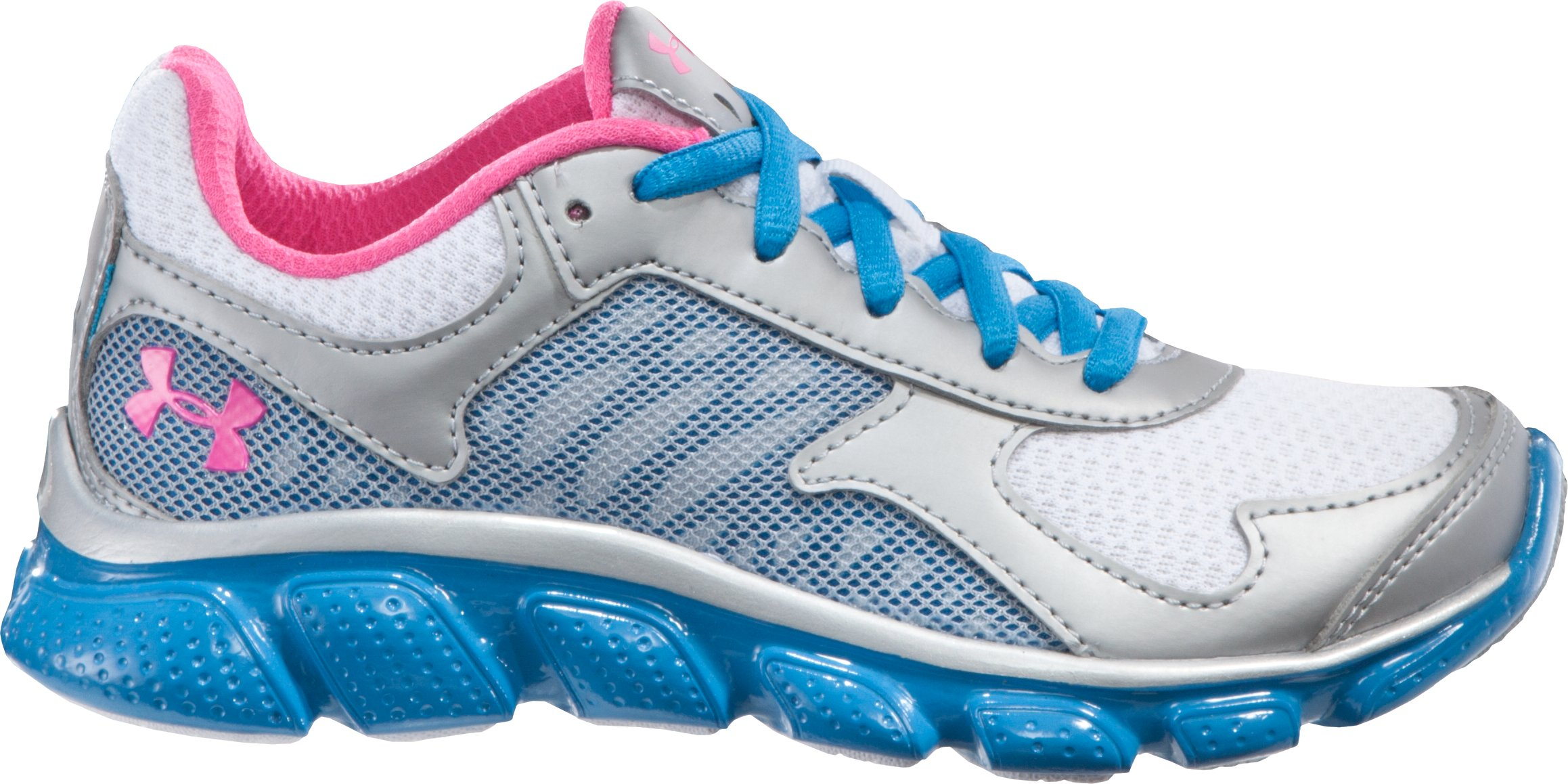 Girls' Pre-School Skulpt, Metallic Silver