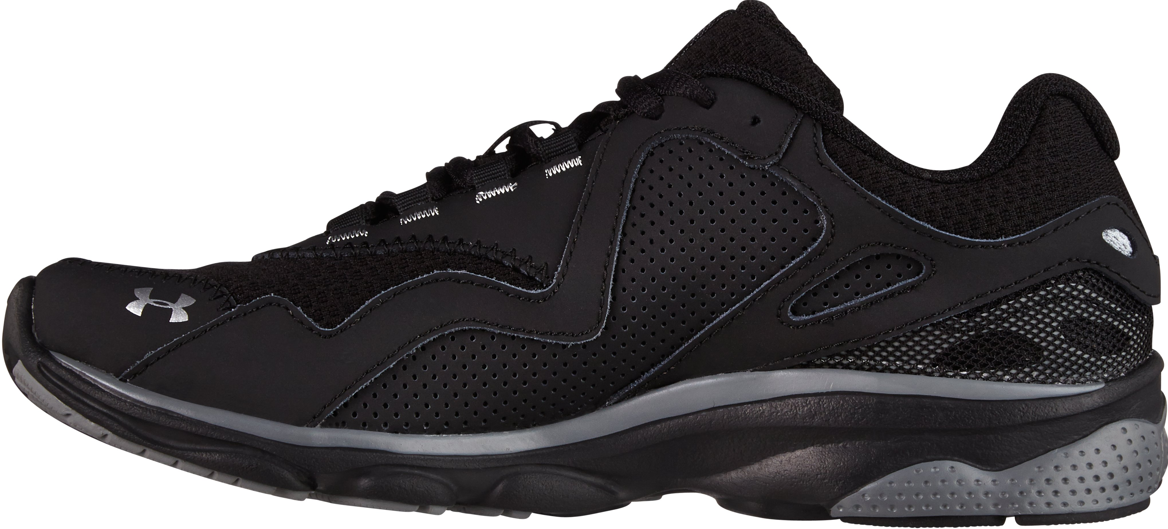 Boys' UA Assert III Grade School Running Shoes, Black