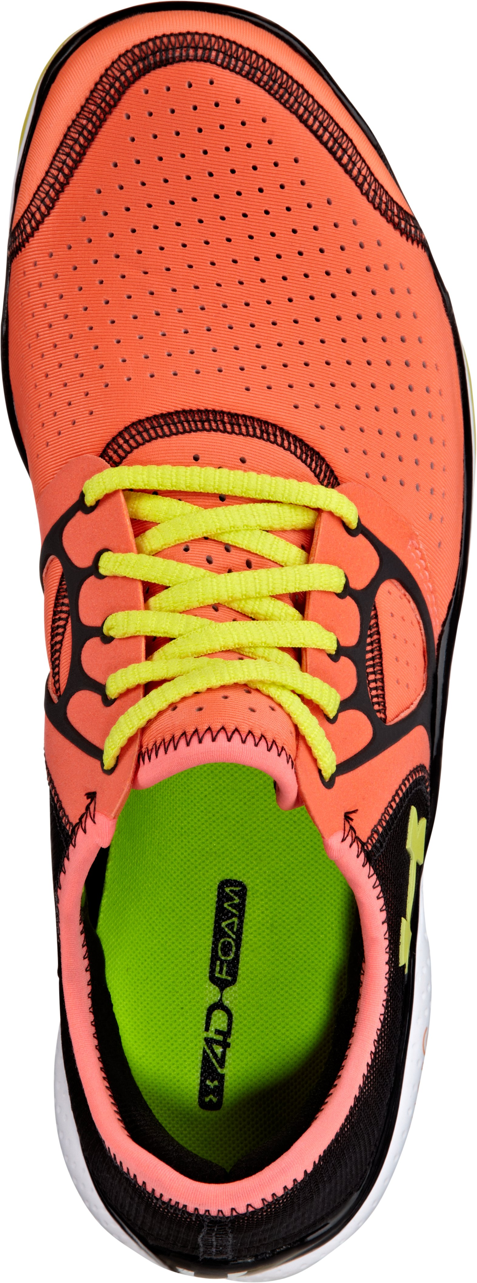 Women's UA FTHR Radiate, ELECTRIC TANGERINE