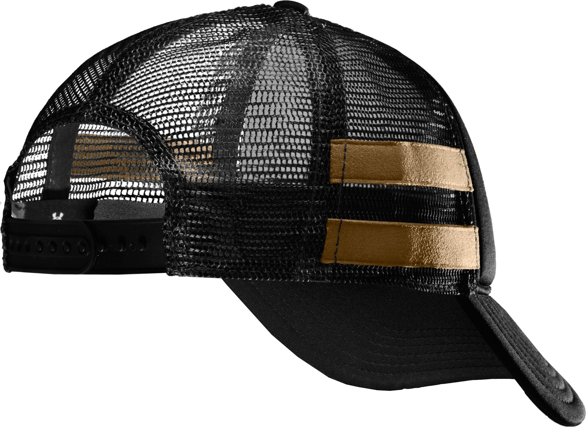 Men's UA MTN Adjustable Cap, Black , undefined