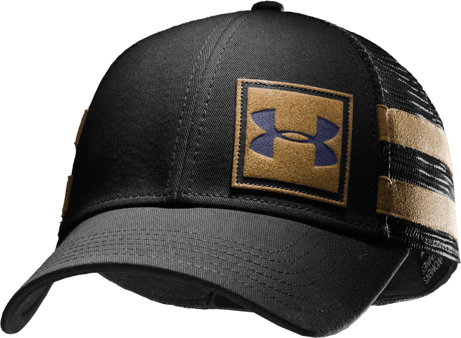 Men's UA MTN Adjustable Cap, Black , zoomed image