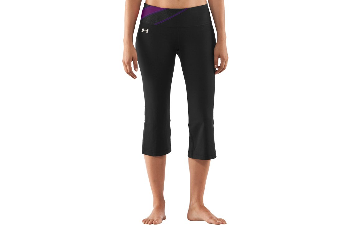 Women's UA Perfect Shape Capri, Black