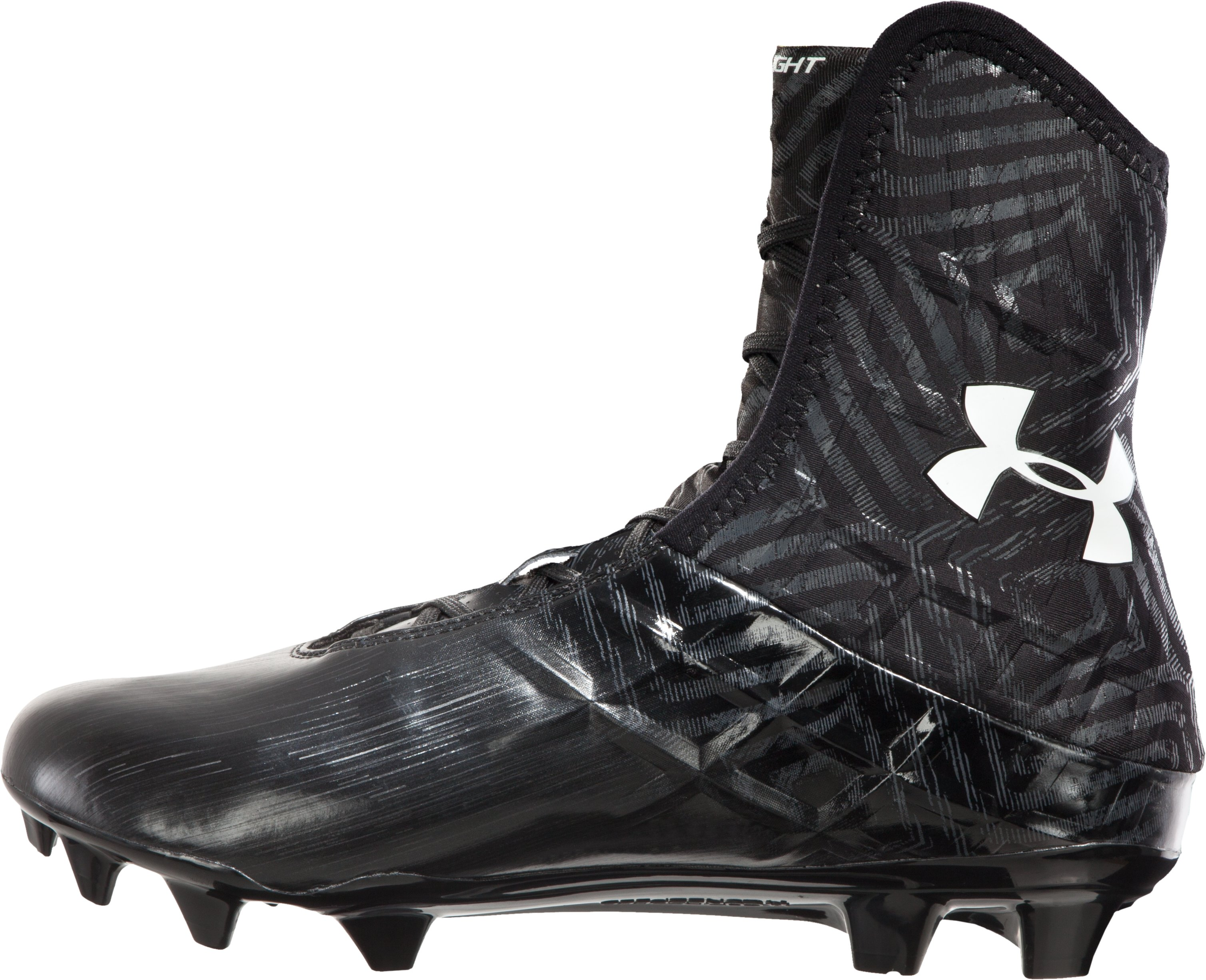 Men's UA Highlight MC Football Cleats, Black