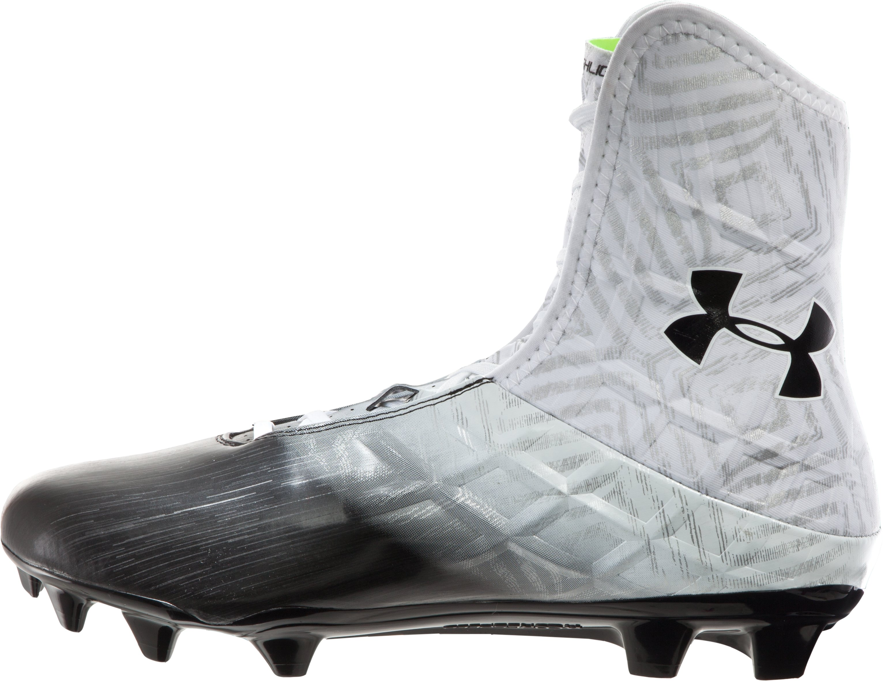 Men's UA Highlight MC Football Cleats, White