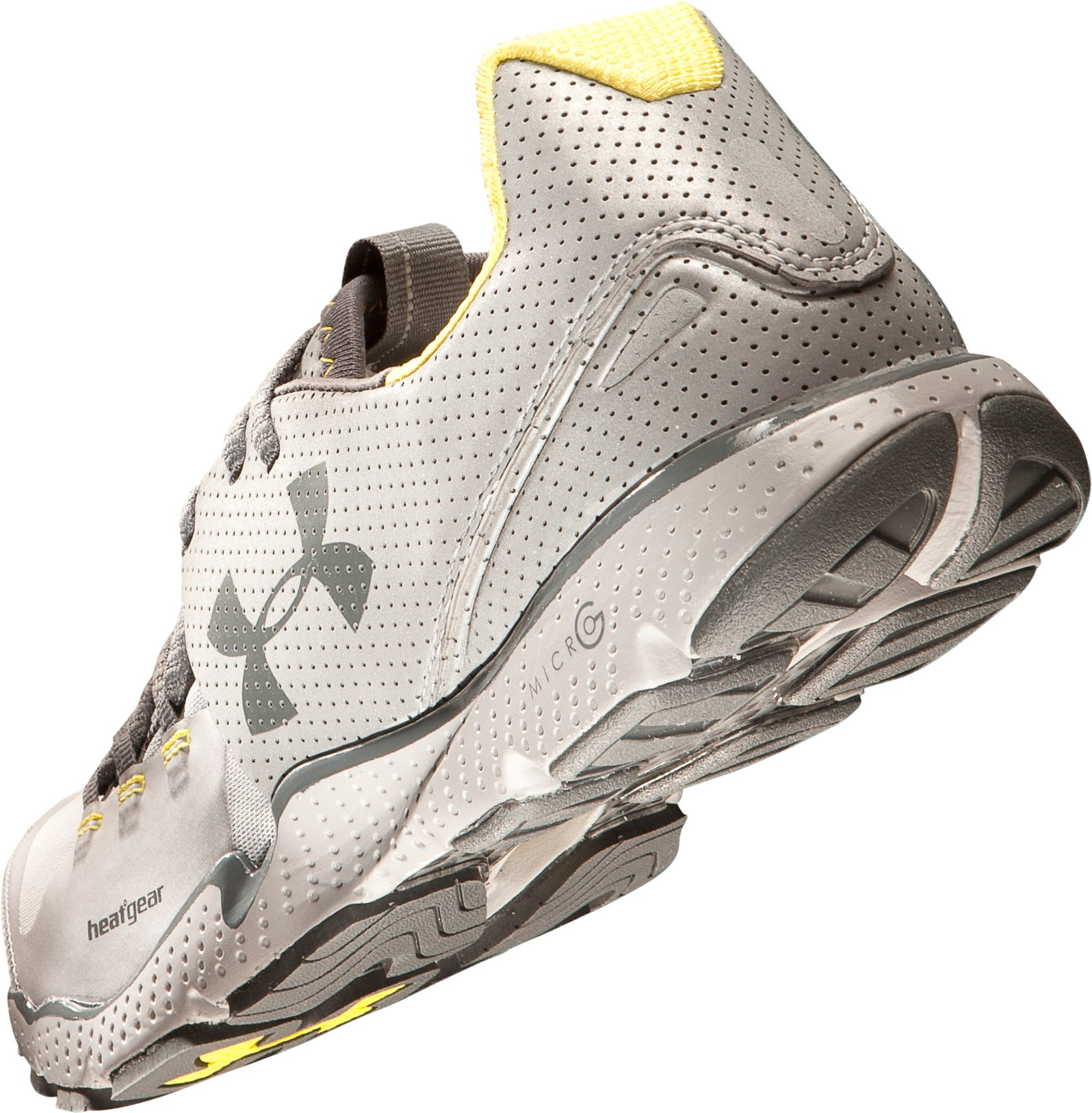 Men's UA Charge RC Reflective Running Shoes, Metallic Silver, undefined