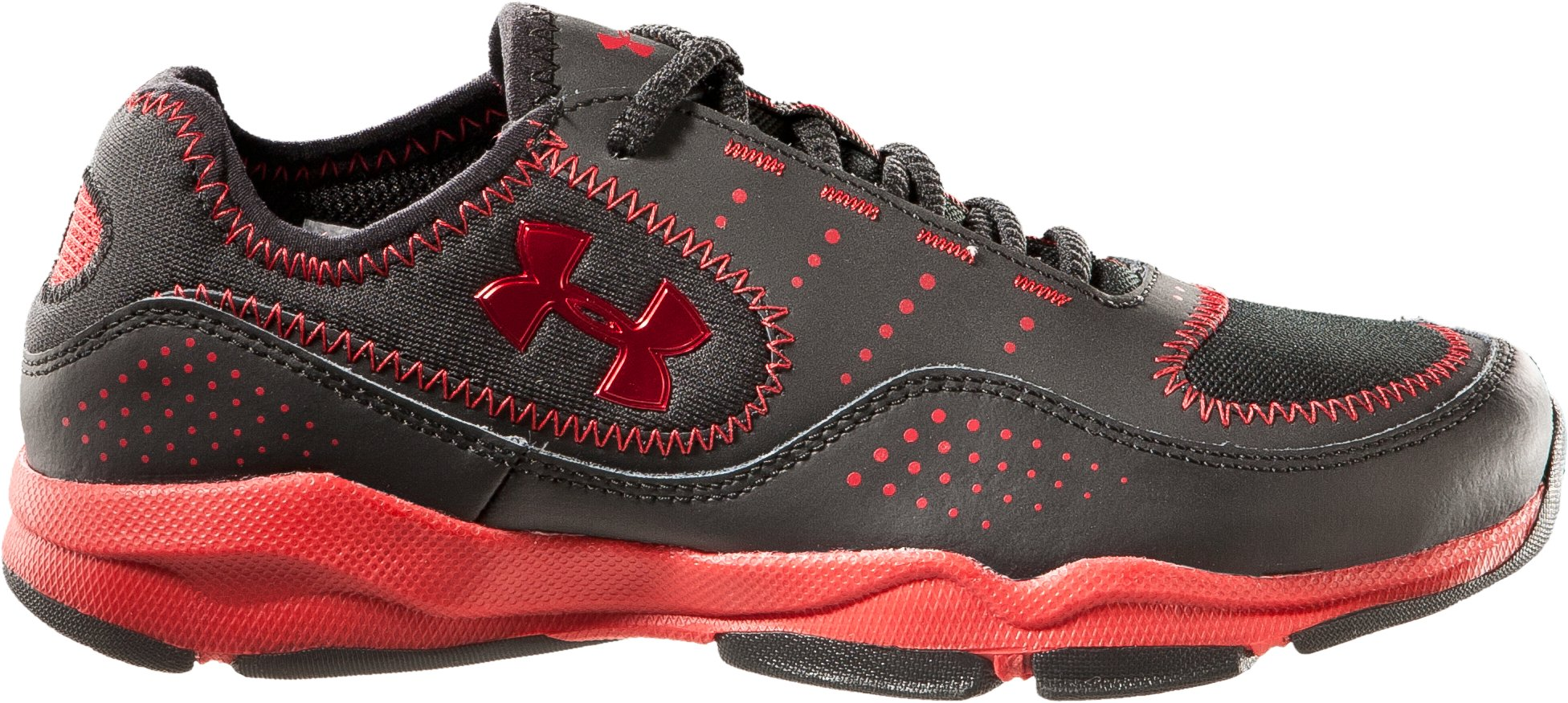Boys' UA Defend Pre-School Training Shoes, Black