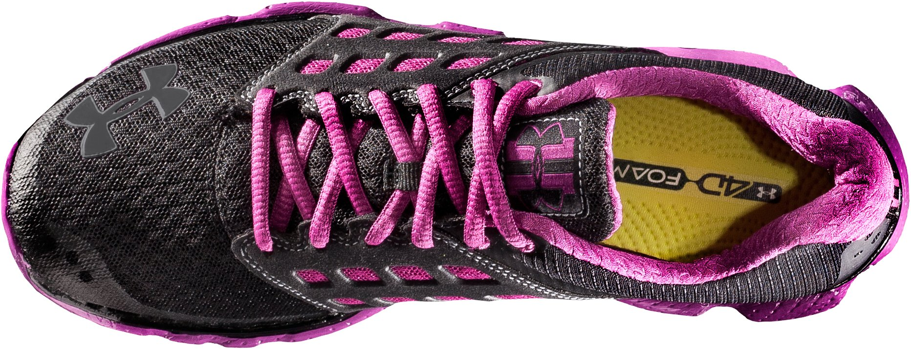 Women's UA Micro G® Connect Running Shoes, Black
