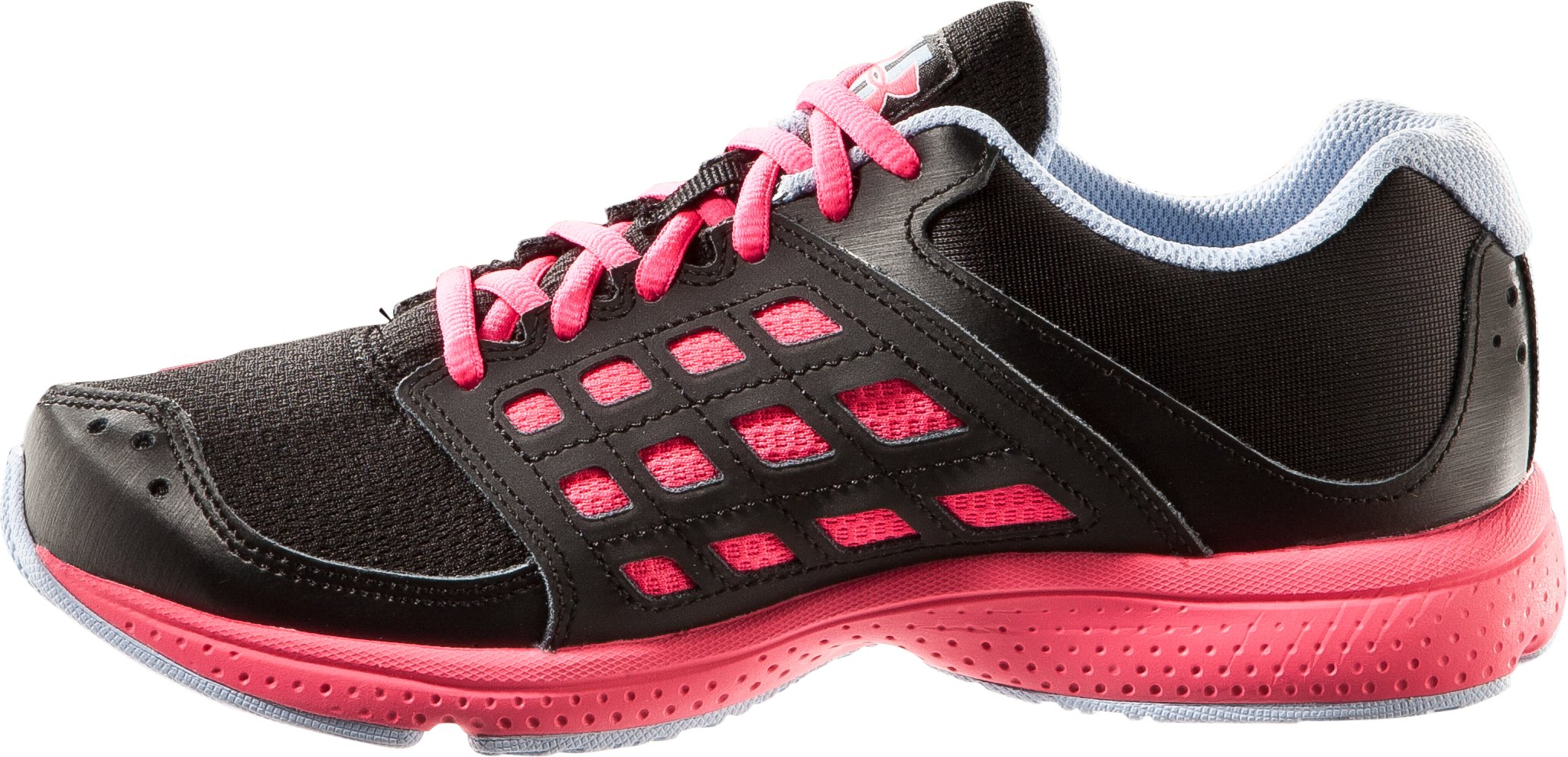 Girls' Grade School UA Micro G® Connect Running Shoe, Black , undefined